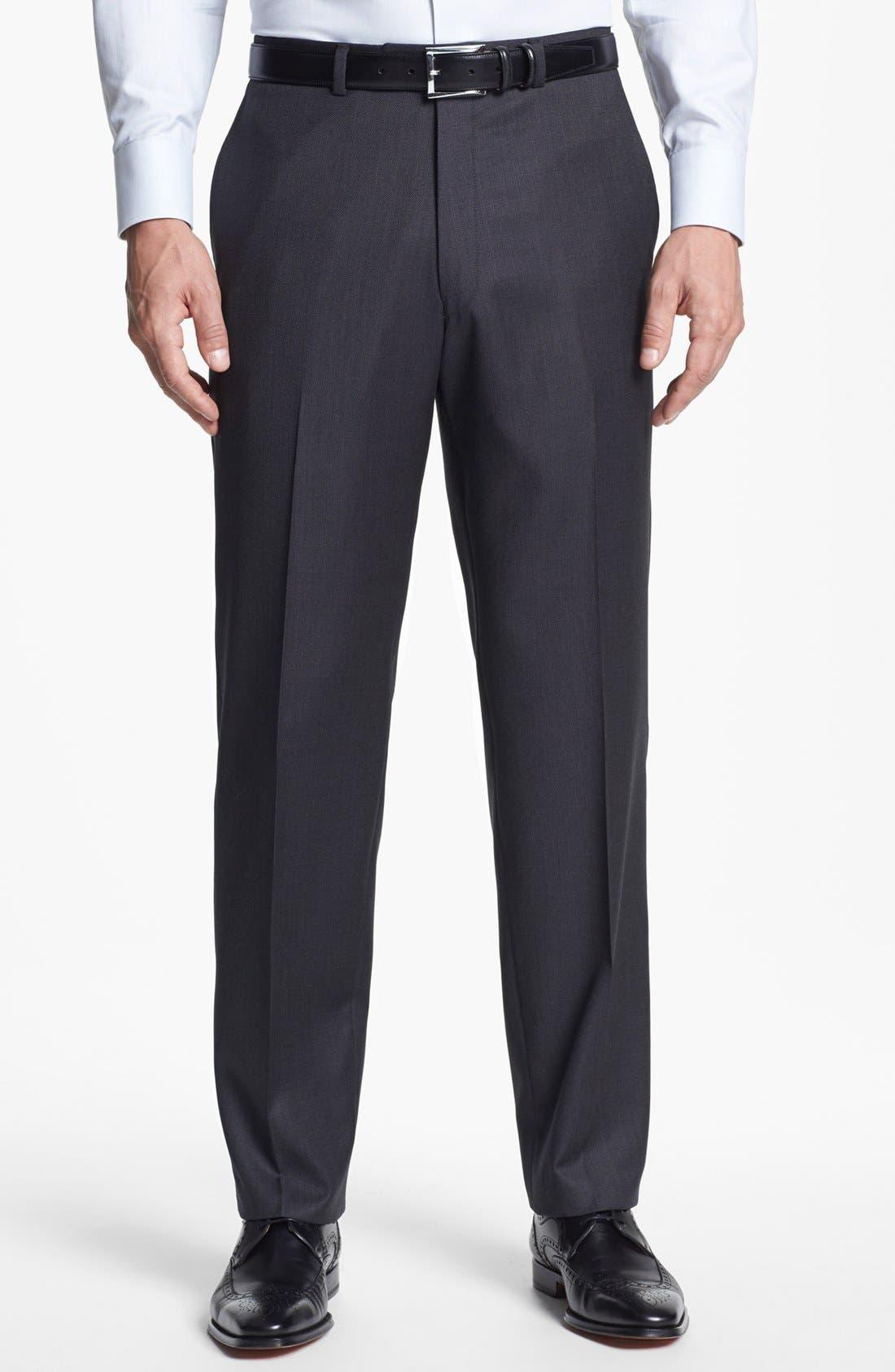 Alternate Image 5  - Hart Schaffner Marx Classic Fit Wool Suit