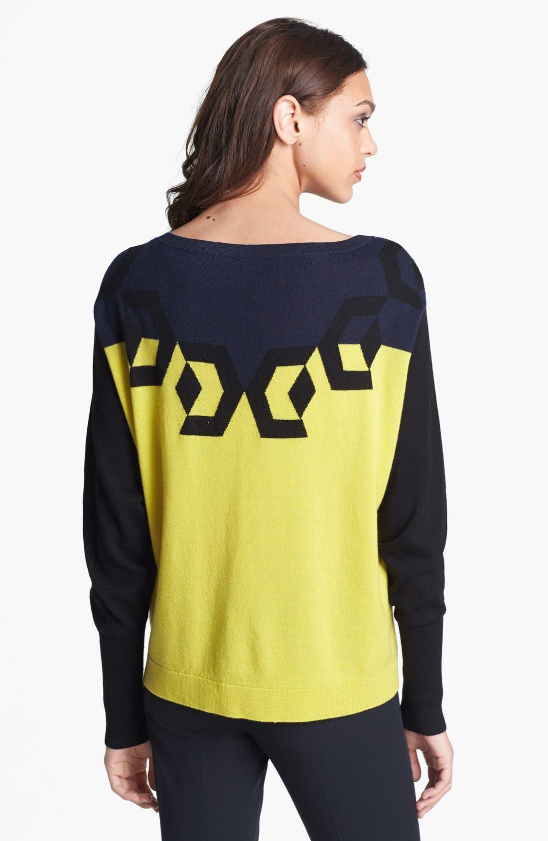 Alternate Image 2  - Diane von Furstenberg 'Floe' Boatneck Sweater
