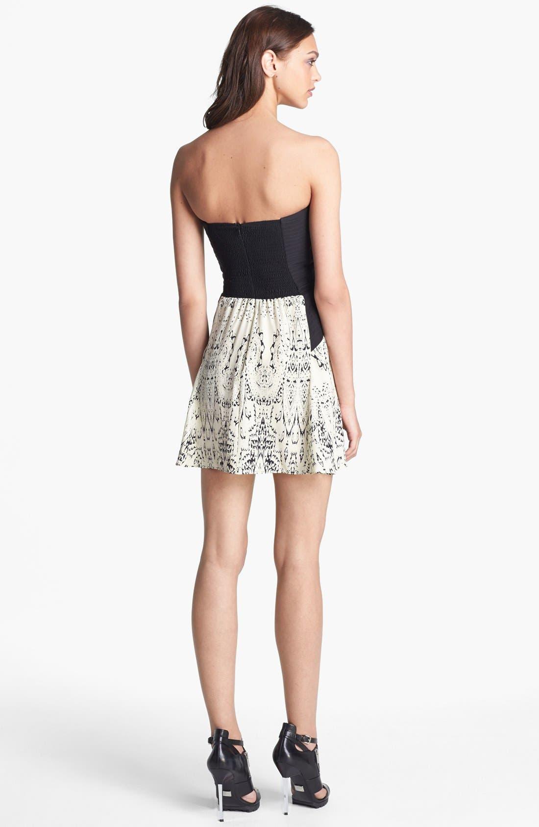 Alternate Image 2  - Parker 'Mara' Silk Minidress
