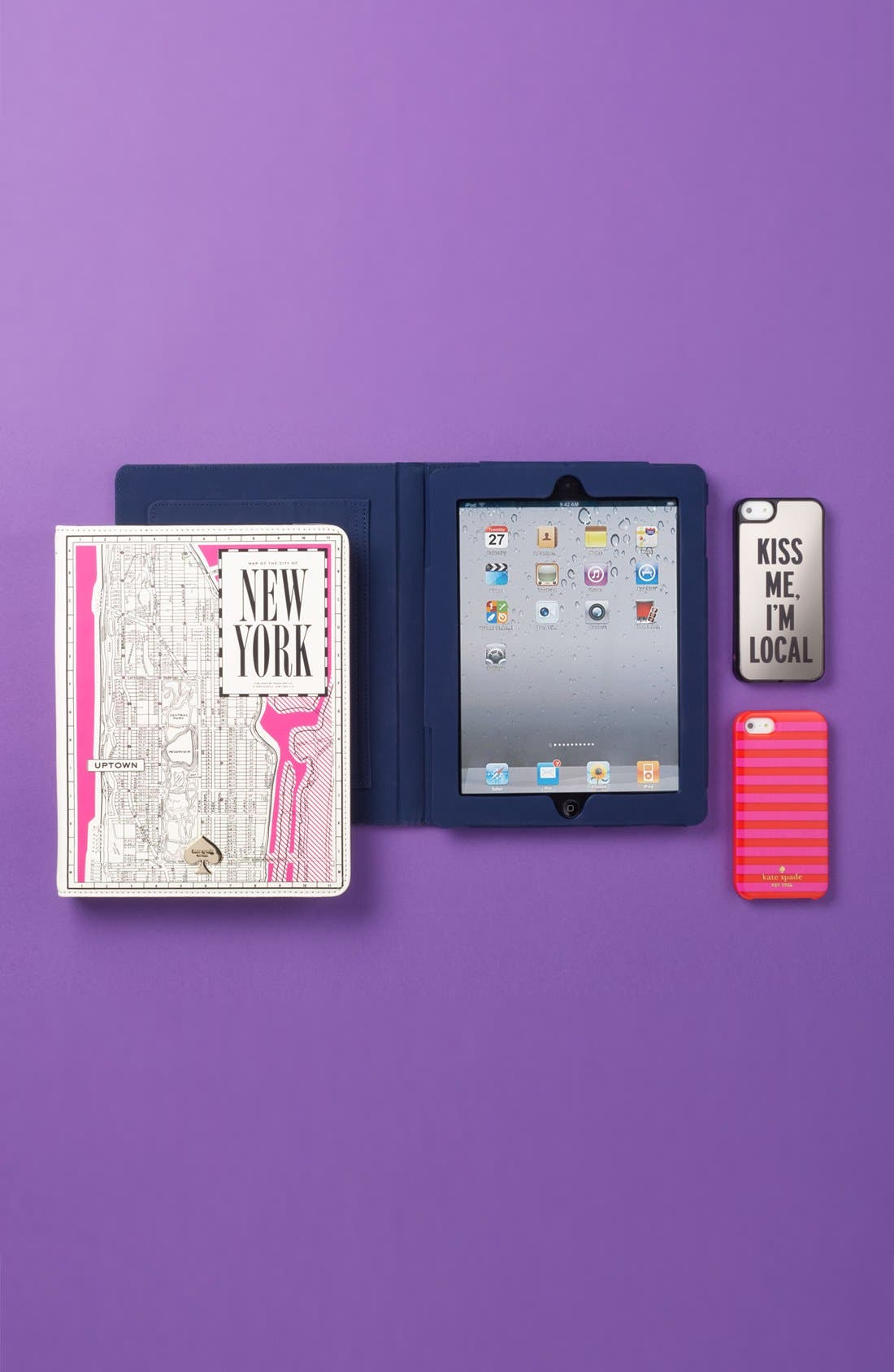 Alternate Image 5  - kate spade new york 'new york map' iPad 2 & 3 folio