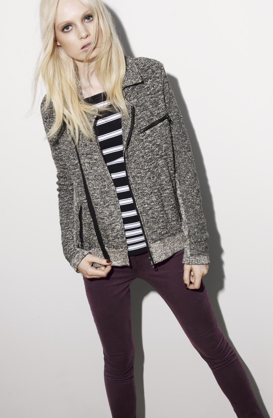 Alternate Image 5  - rag & bone 'Sara' Stripe Knit Top
