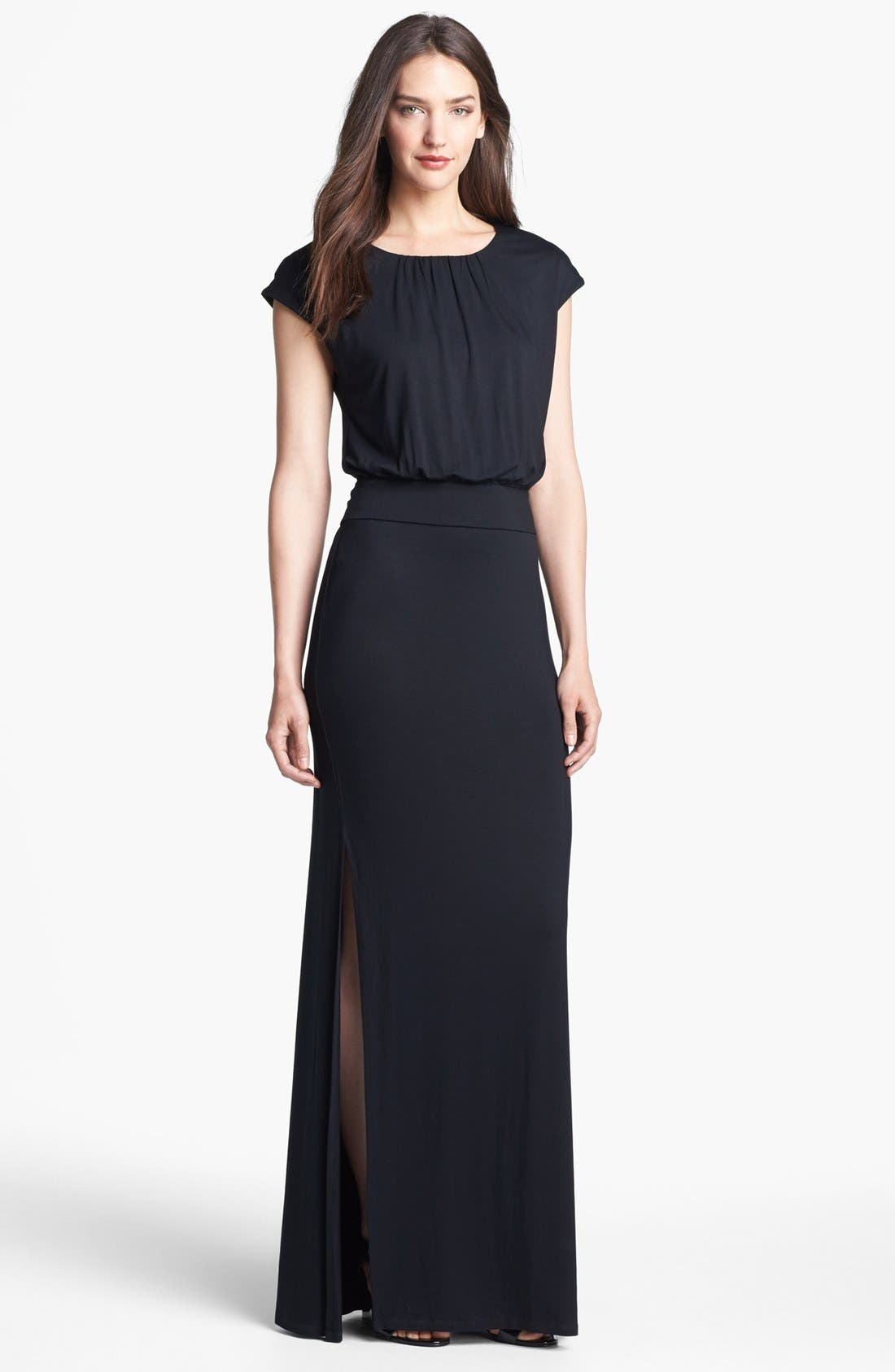 Alternate Image 1 Selected - Felicity & Coco 'Vienna' Blouson Maxi Dress (Nordstrom Exclusive)