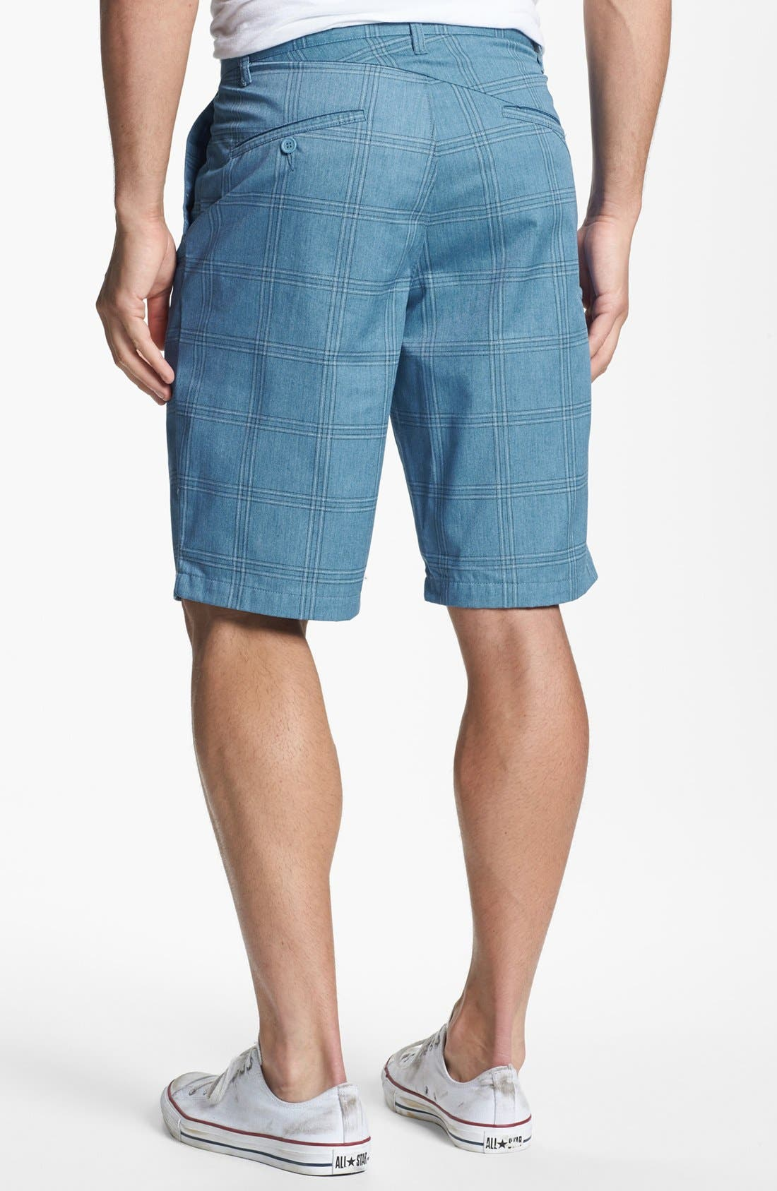 Alternate Image 2  - Volcom Modern Plaid Shorts