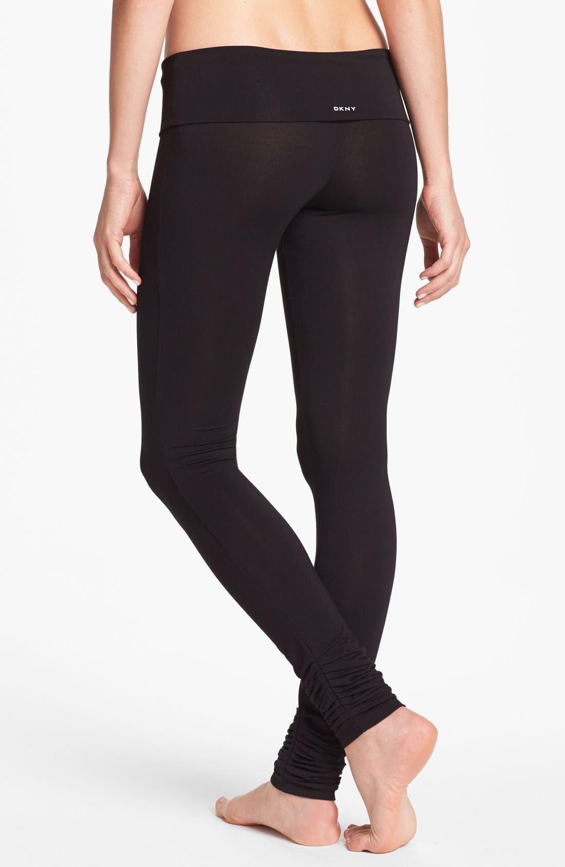 Alternate Image 2  - DKNY 'Soho Mews Yoga Skinnies' Leggings