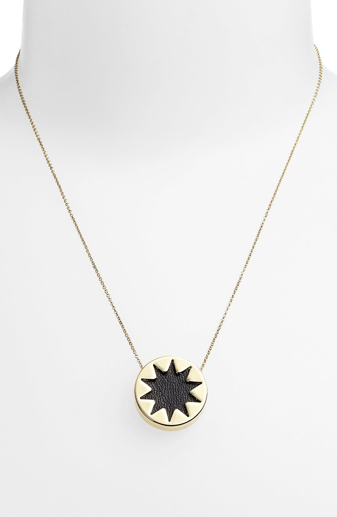 Alternate Image 3  - House of Harlow 1960 Mini Sunburst Pendant Necklace (Online Only)