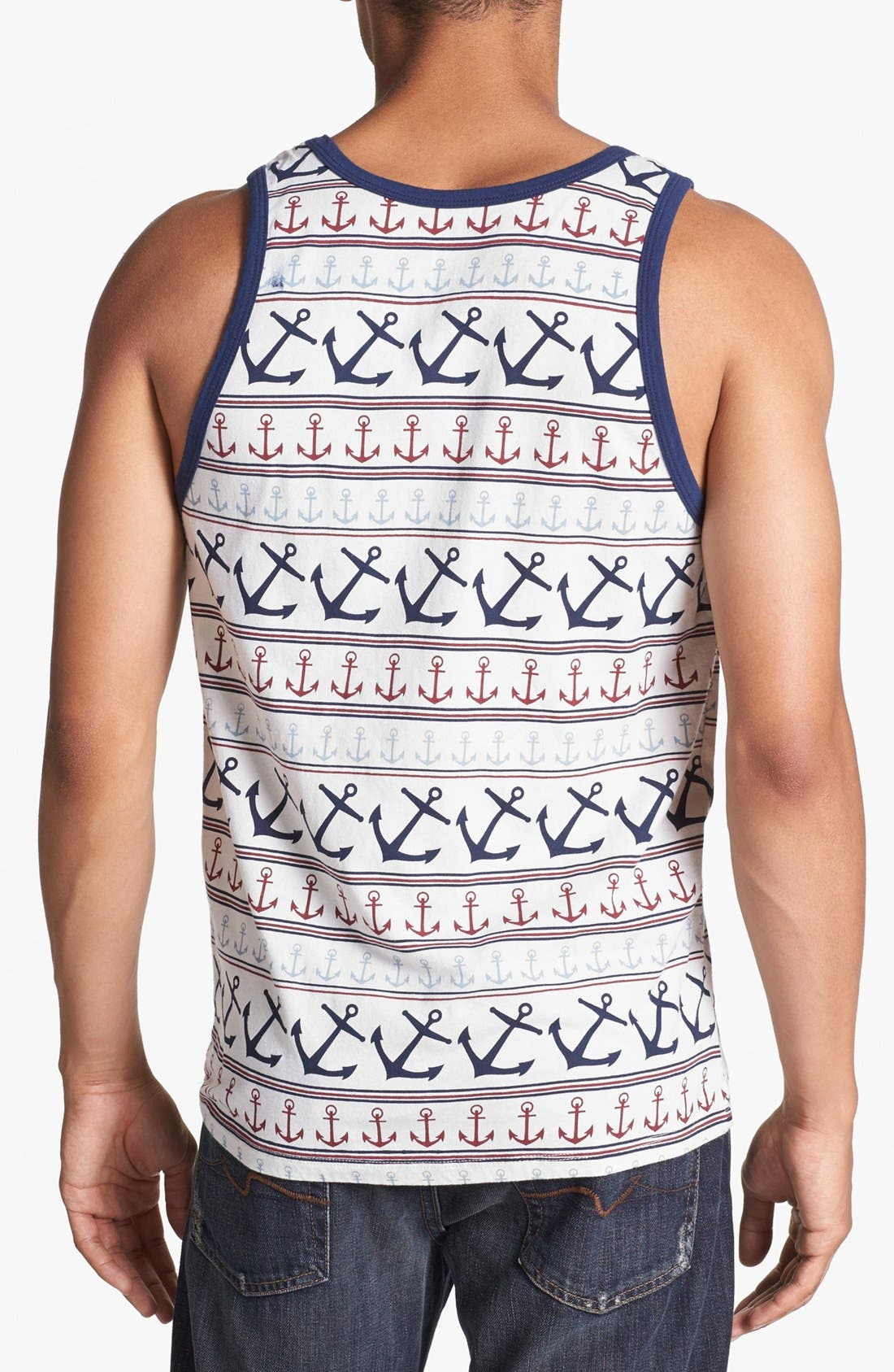 Alternate Image 2  - Sub_Urban Riot 'Anchors' Print Tank Top