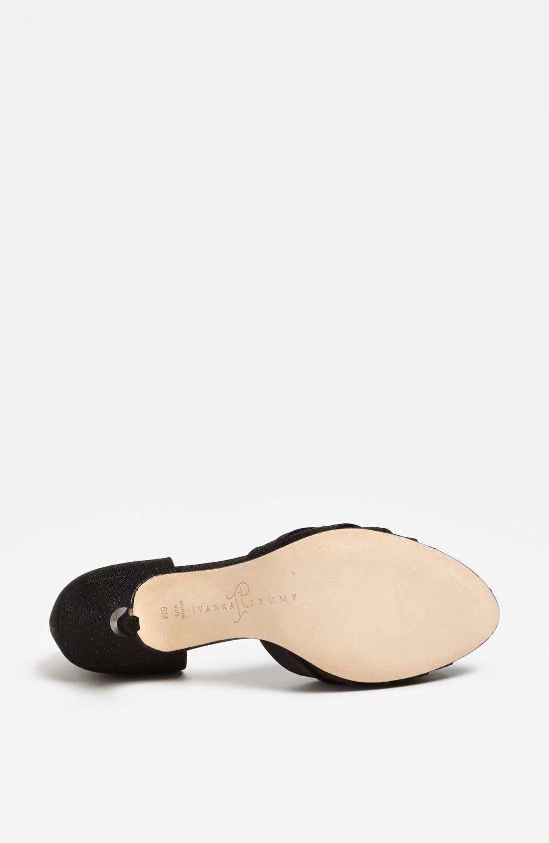 Alternate Image 4  - Ivanka Trump 'Nanci' Sandal (Online Only)