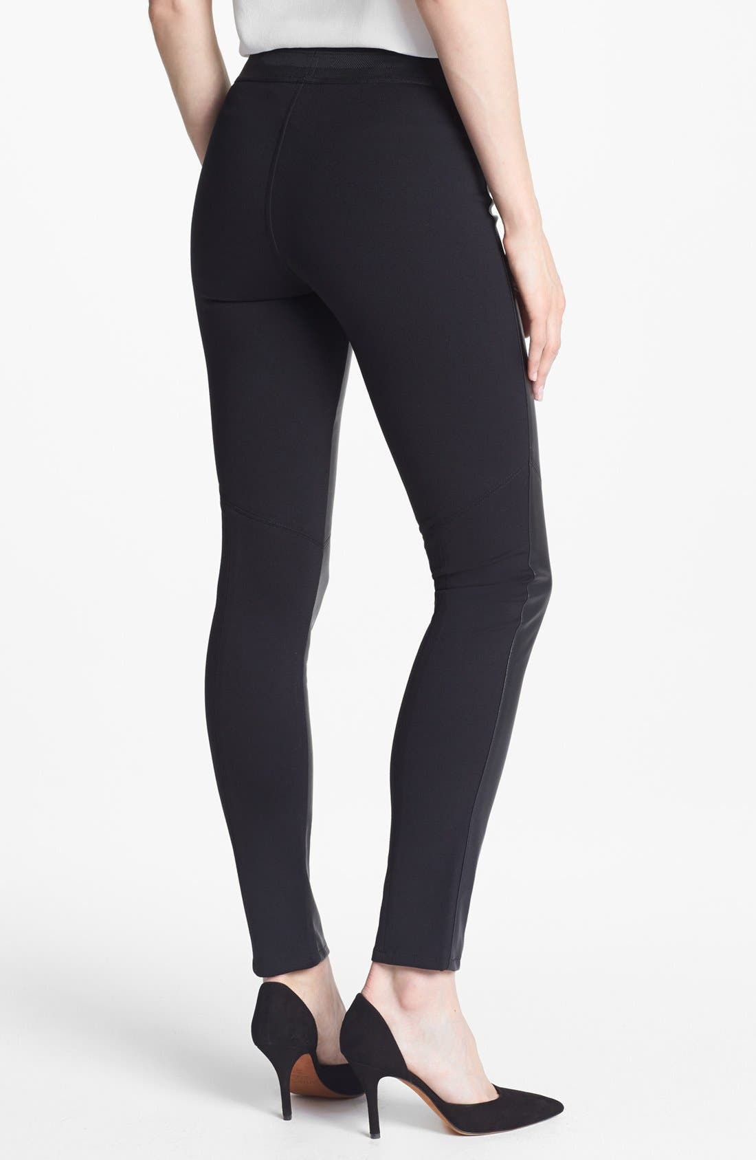Alternate Image 2  - Paige Denim 'Paloma' Faux Leather Leggings