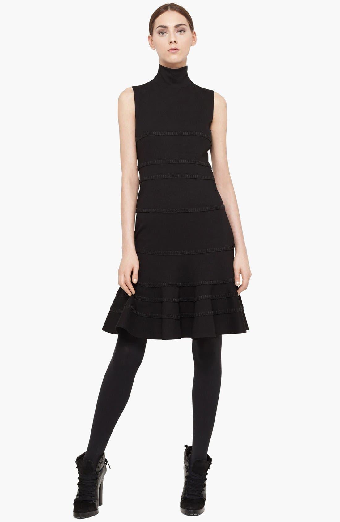 Main Image - Akris punto Turtleneck Jersey Dress