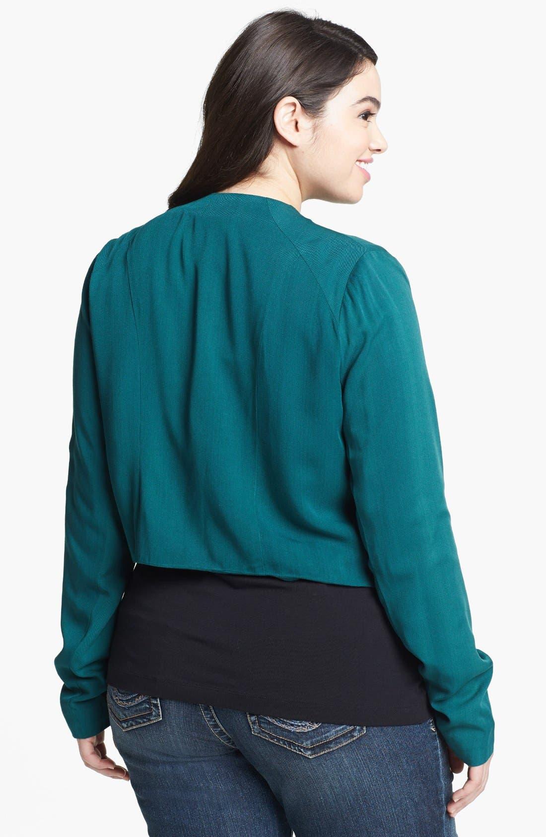 Alternate Image 2  - BB Dakota 'Camden' Jacket (Plus Size)
