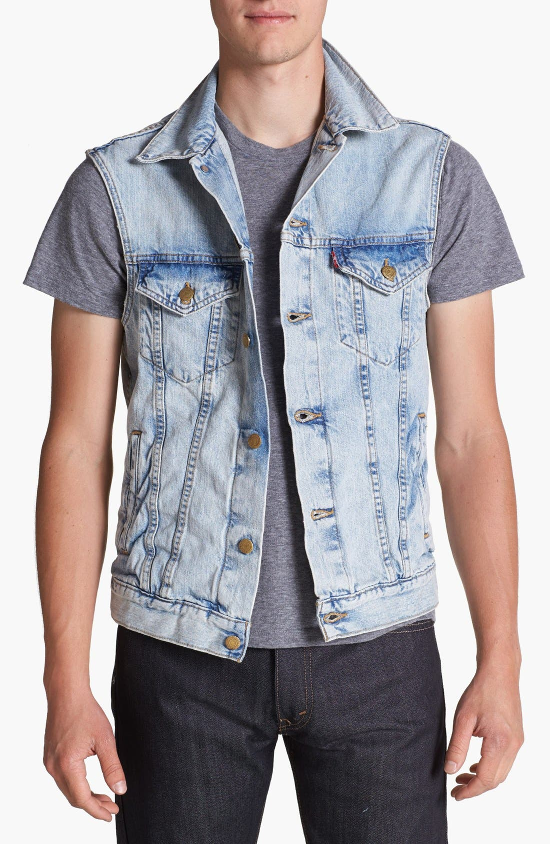 Alternate Image 1 Selected - Levi's® Denim Vest