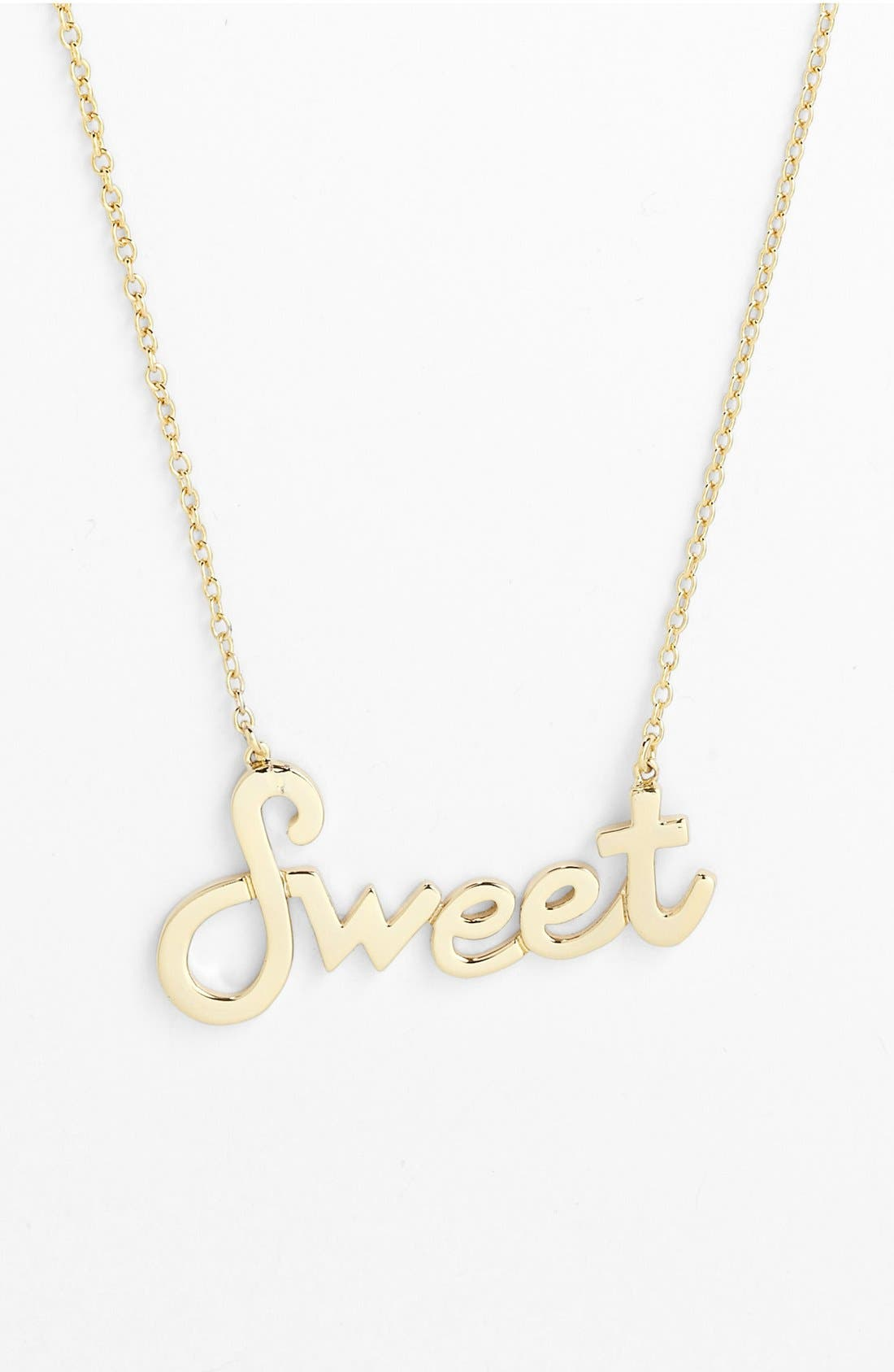 Alternate Image 1 Selected - Ariella Collection 'Attitude' Pendant Necklace (Nordstrom Exclusive)