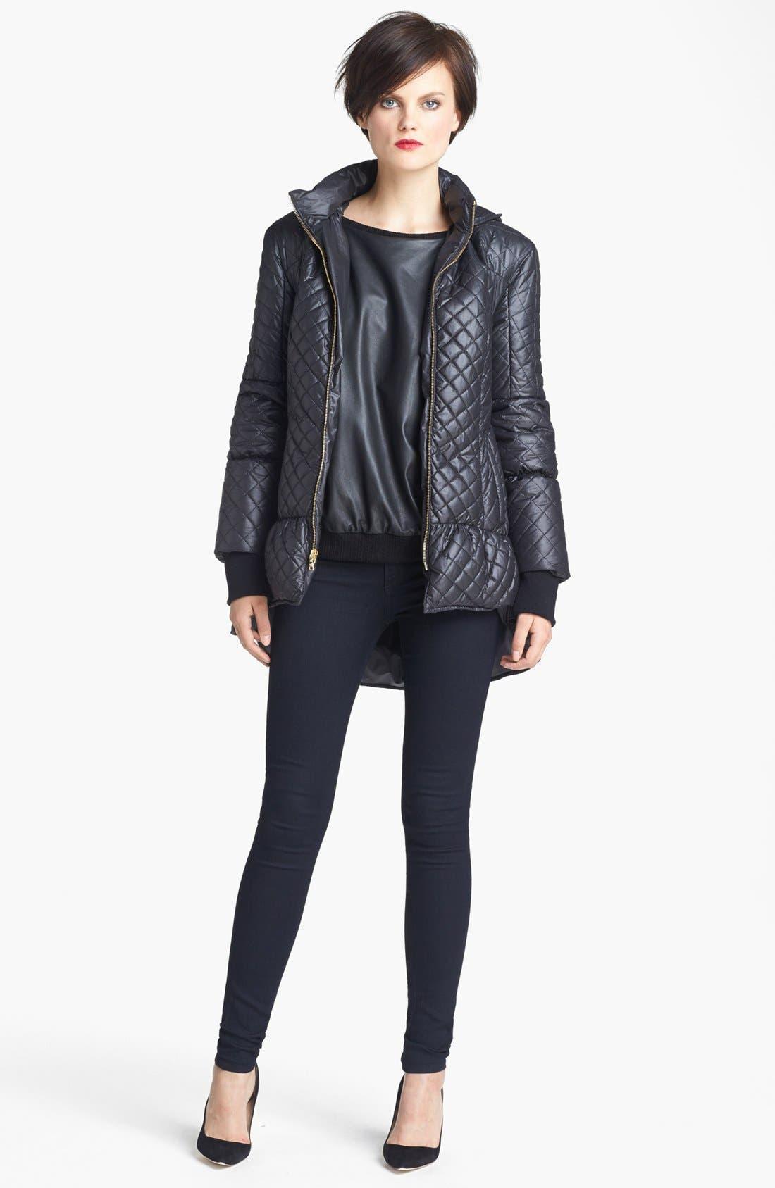 Alternate Image 2  - Alice + Olivia Hooded Puffer Jacket