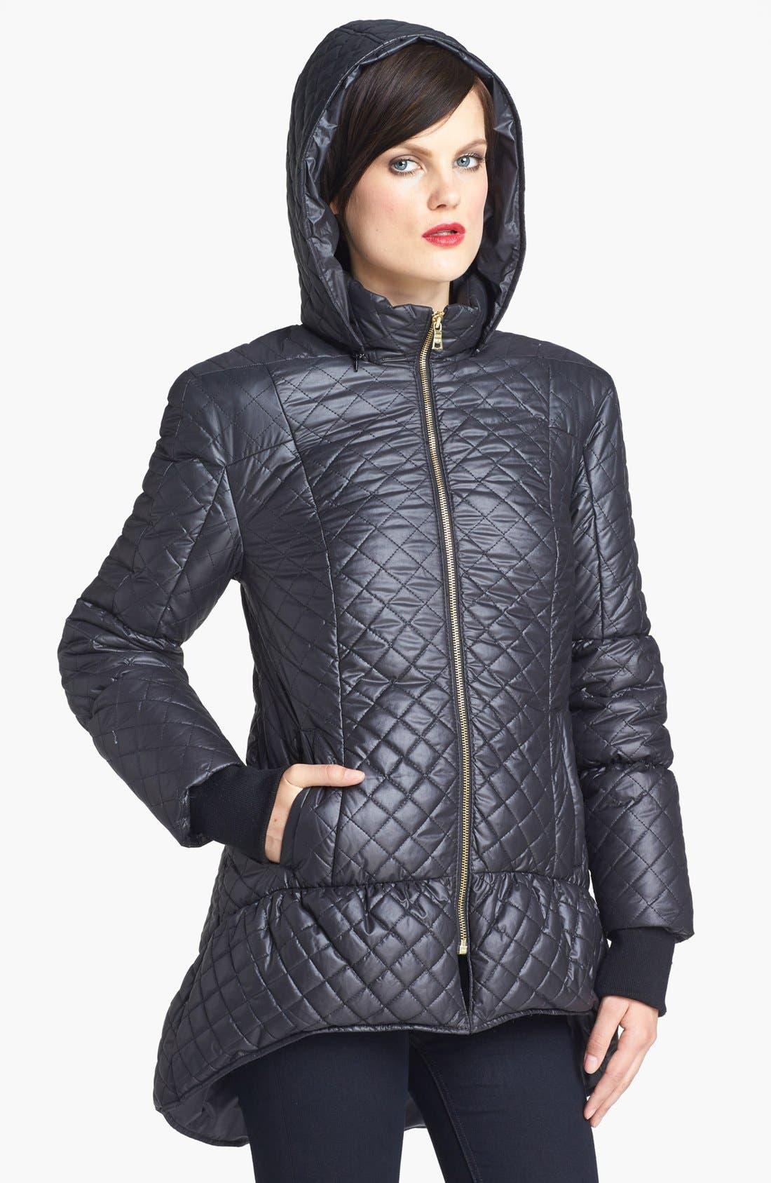 Alternate Image 3  - Alice + Olivia Hooded Puffer Jacket