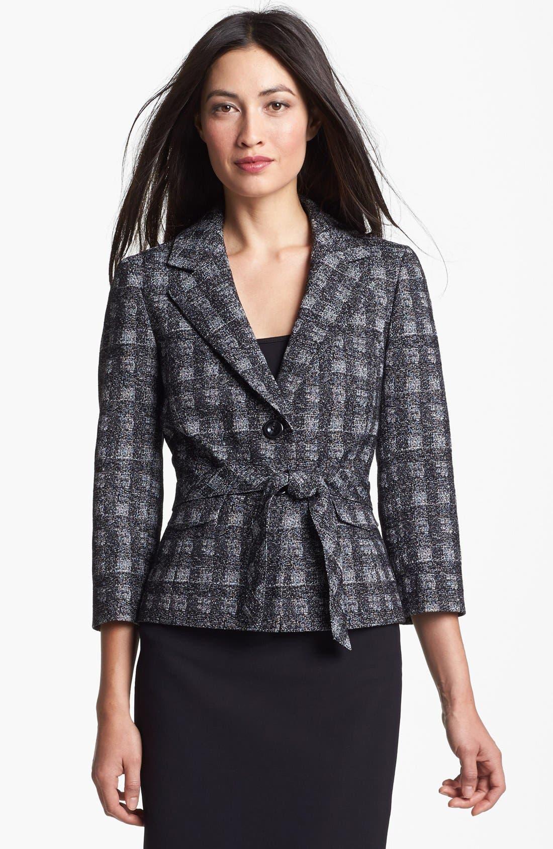 Alternate Image 1 Selected - Classiques Entier® 'Twist Check' Jacket