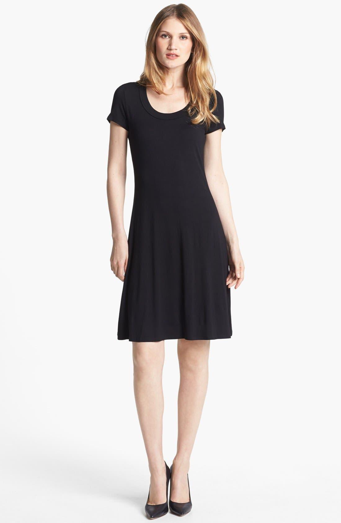 Main Image - Karen Kane Scoop Neck Jersey Dress