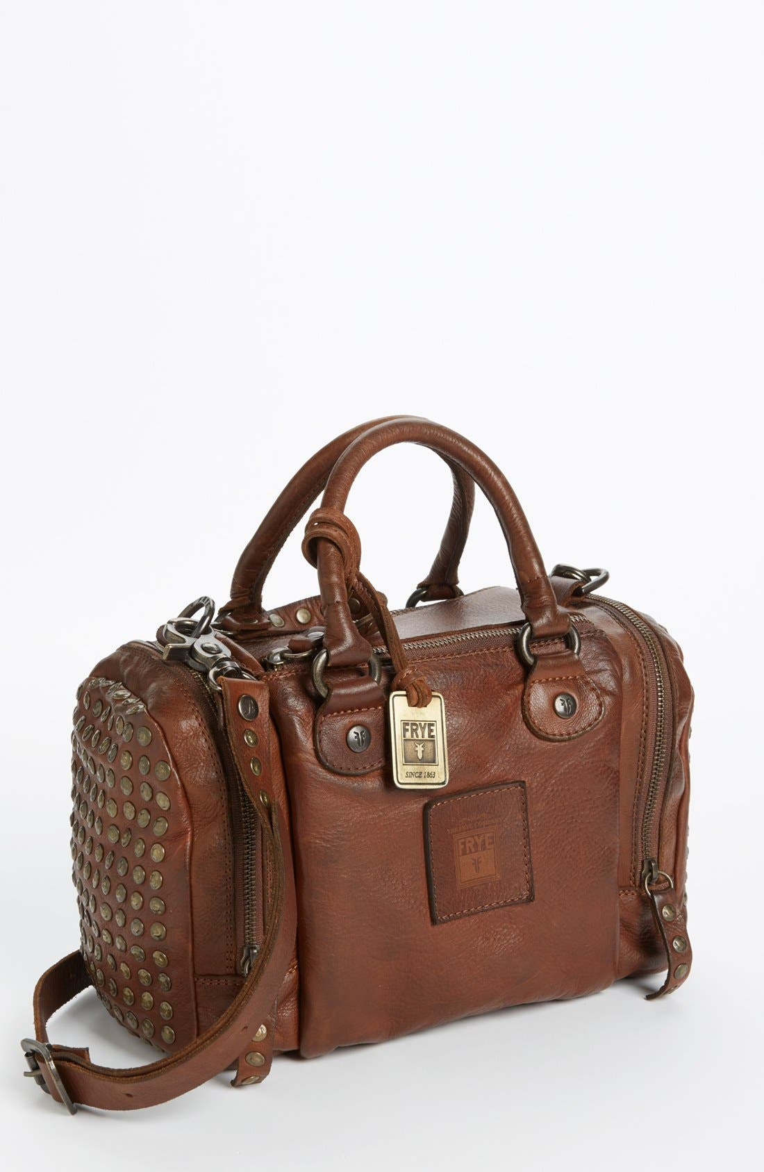Main Image - Frye 'Brooke Speedy' Leather Satchel, Small (Online Only)