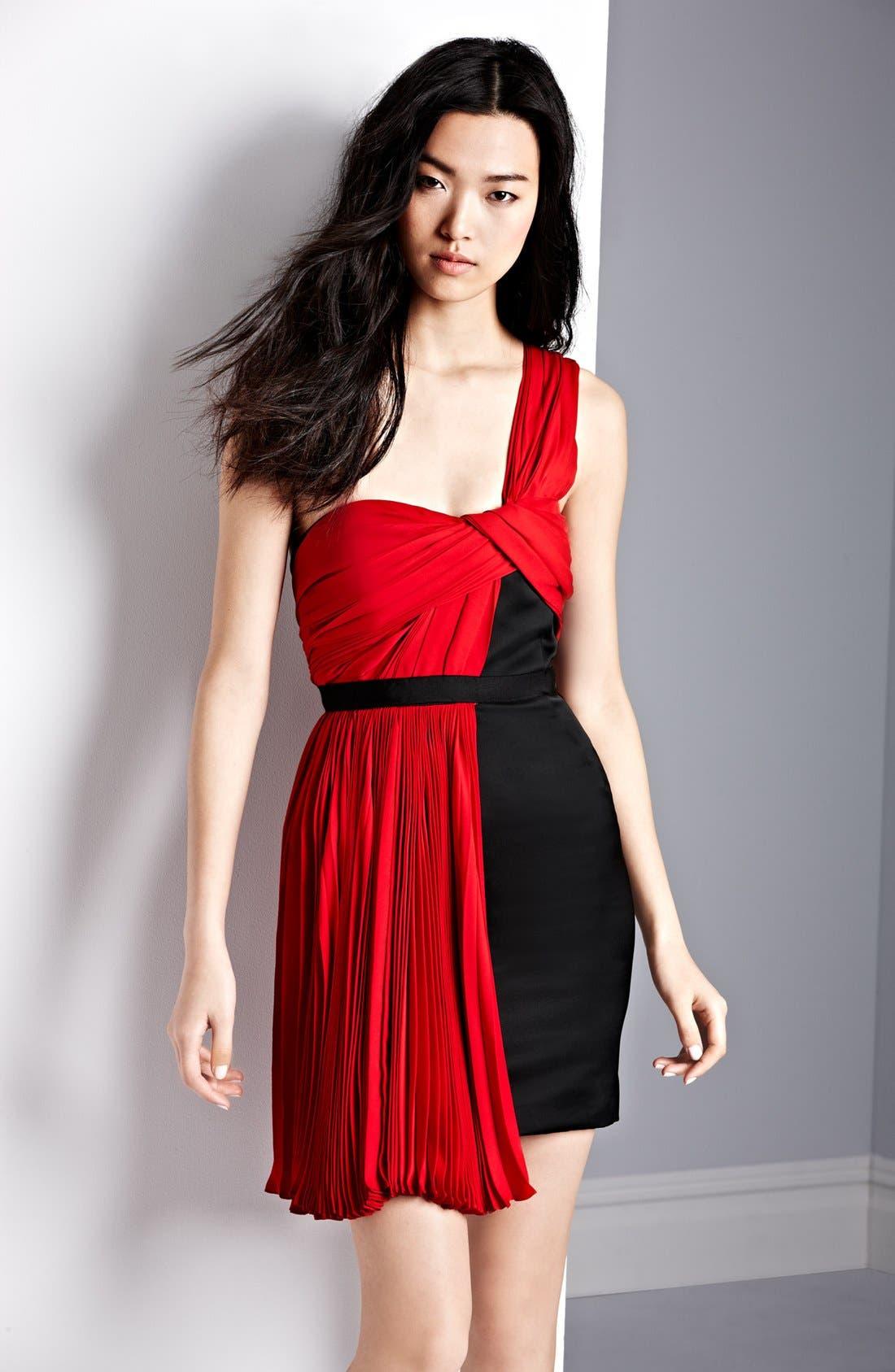 Alternate Image 4  - Jason Wu One Shoulder Pleated Dress