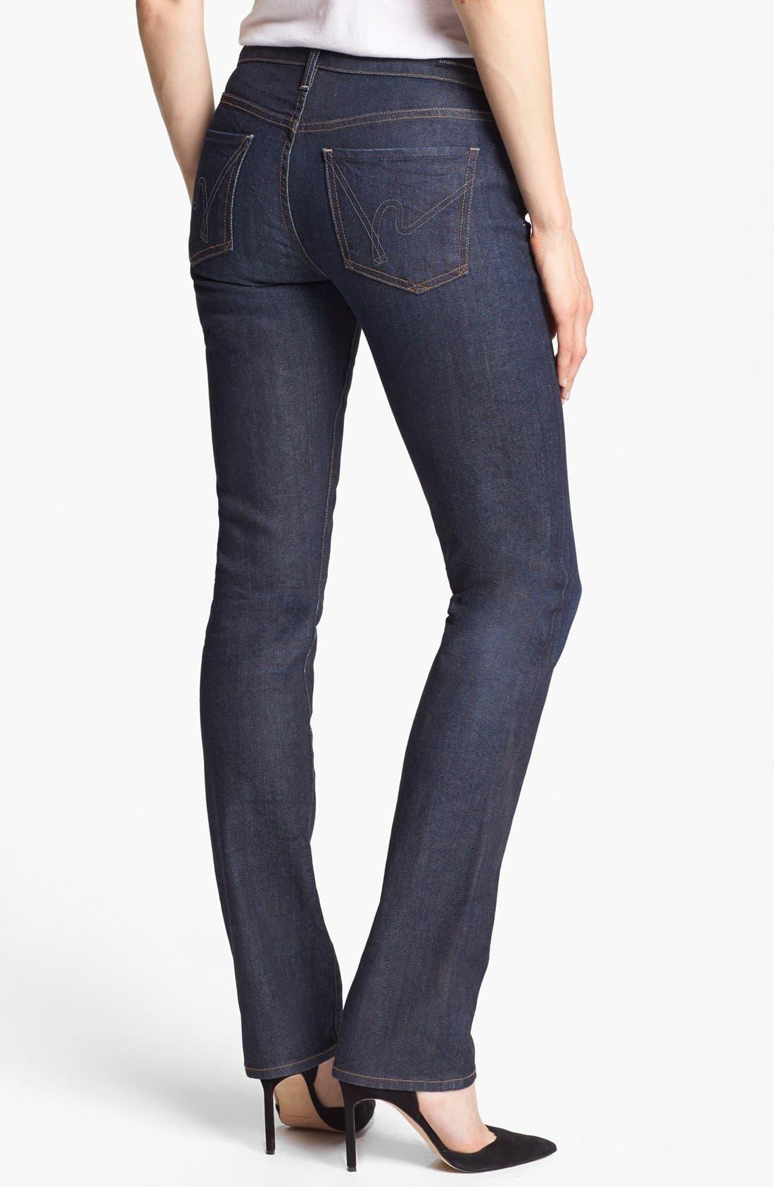 Alternate Image 2  - Citizens of Humanity 'Ava' Straight Leg Jeans (Hush)