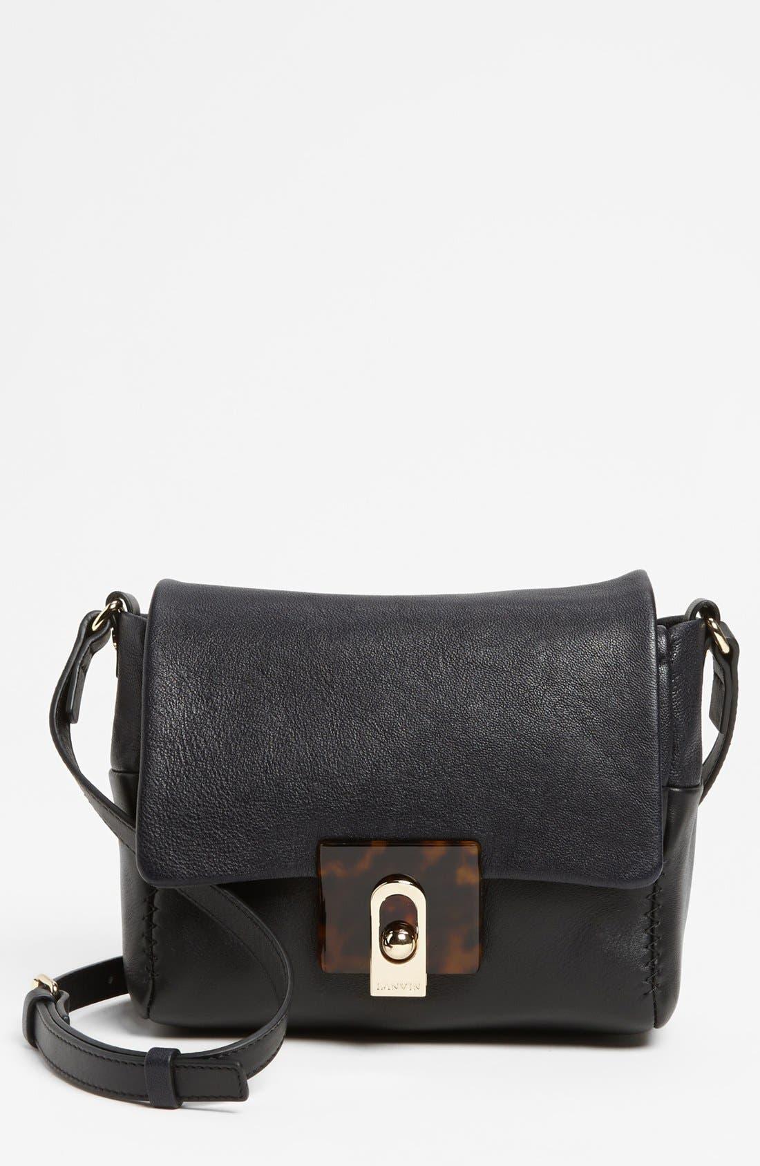 Alternate Image 1 Selected - Lanvin 'For Me' Leather Crossbody Bag