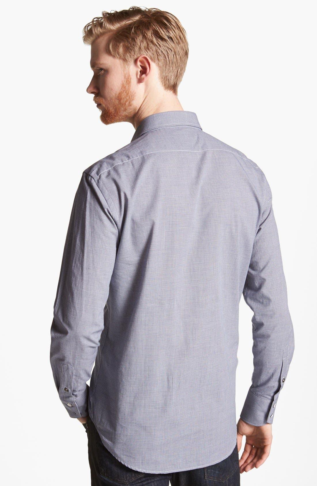 Alternate Image 2  - rag & bone 'Charles' Micro Gingham Woven Shirt