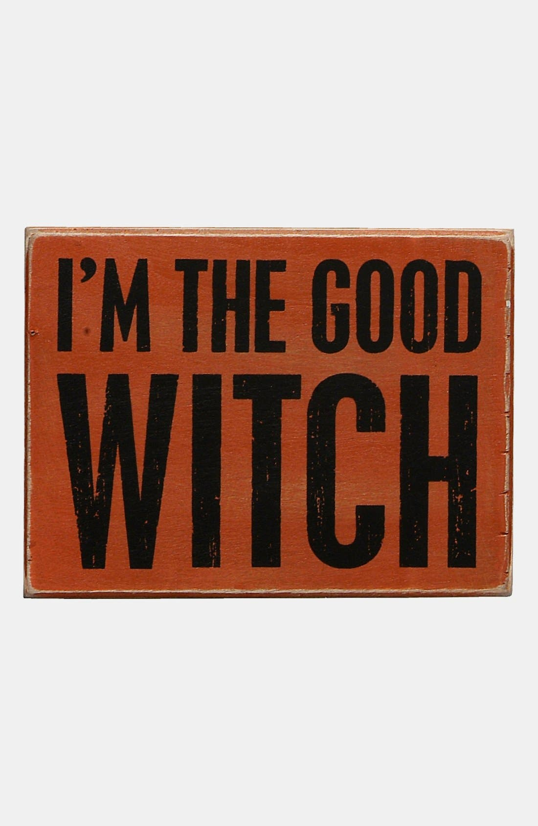 Alternate Image 1 Selected - Primitives by Kathy 'I Am the Good Witch' Box Sign