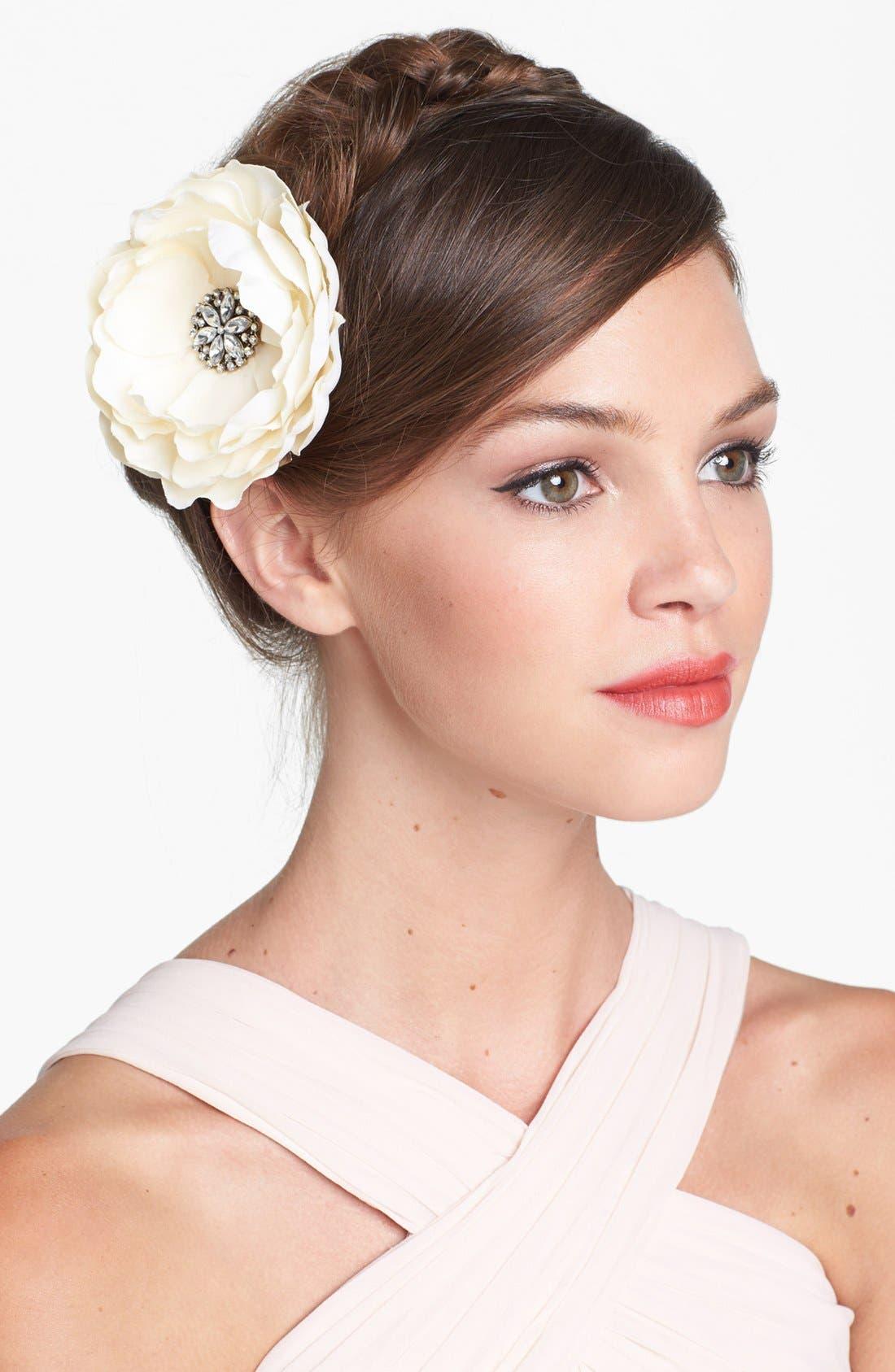 Main Image - Whichgoose Magnolia Hair Clip