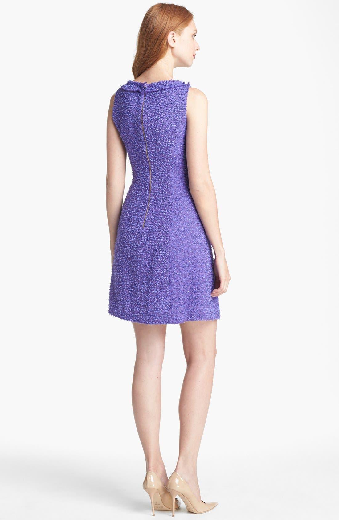 Alternate Image 2  - kate spade new york 'naudia' cotton blend a-line dress