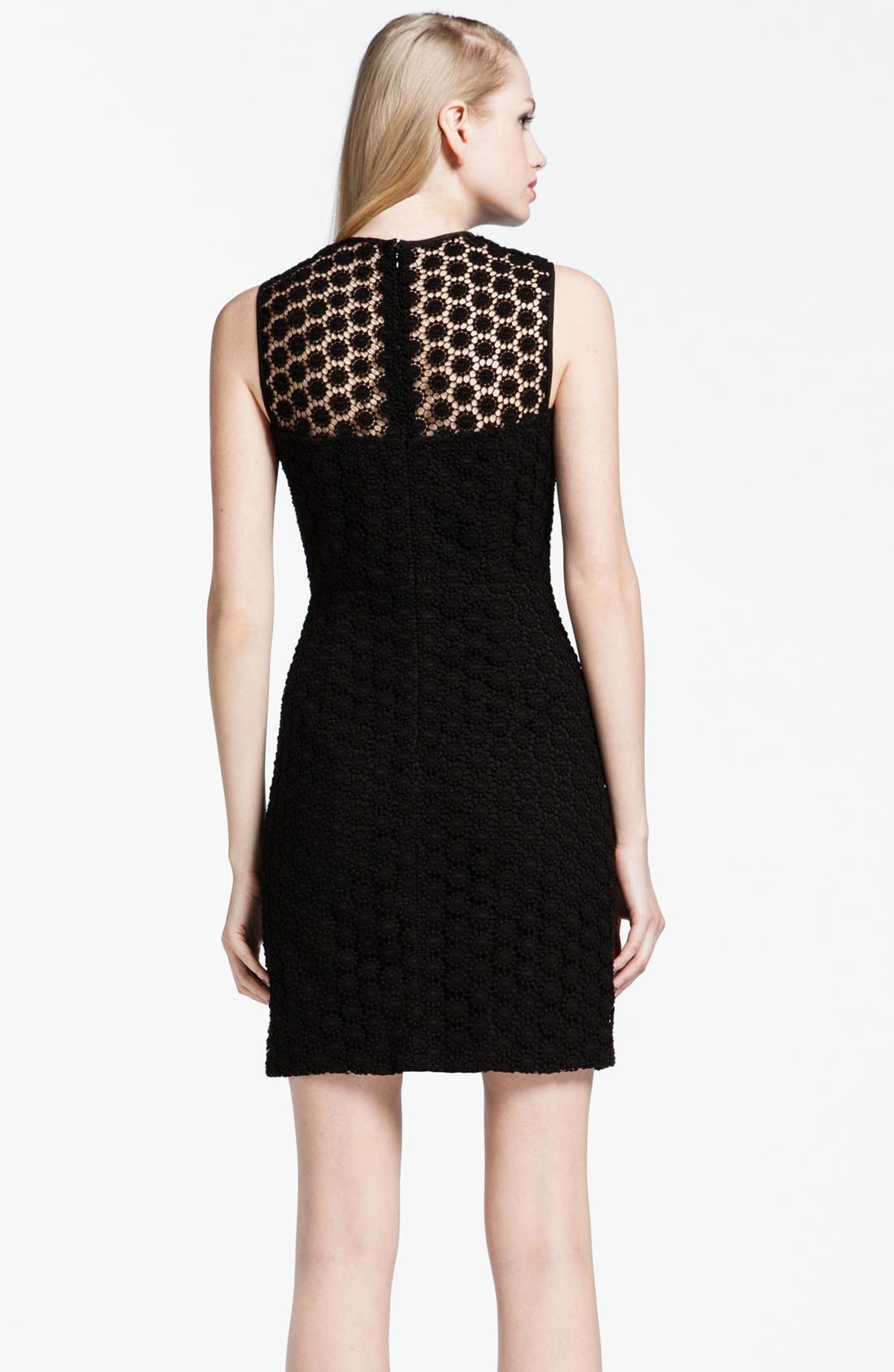 Alternate Image 2  - Cynthia Steffe 'Olive' Crochet Lace Sheath Dress