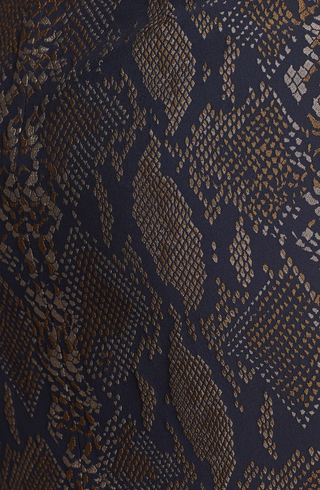 Alternate Image 3  - Diane von Furstenberg 'Garland' Sheath Dress