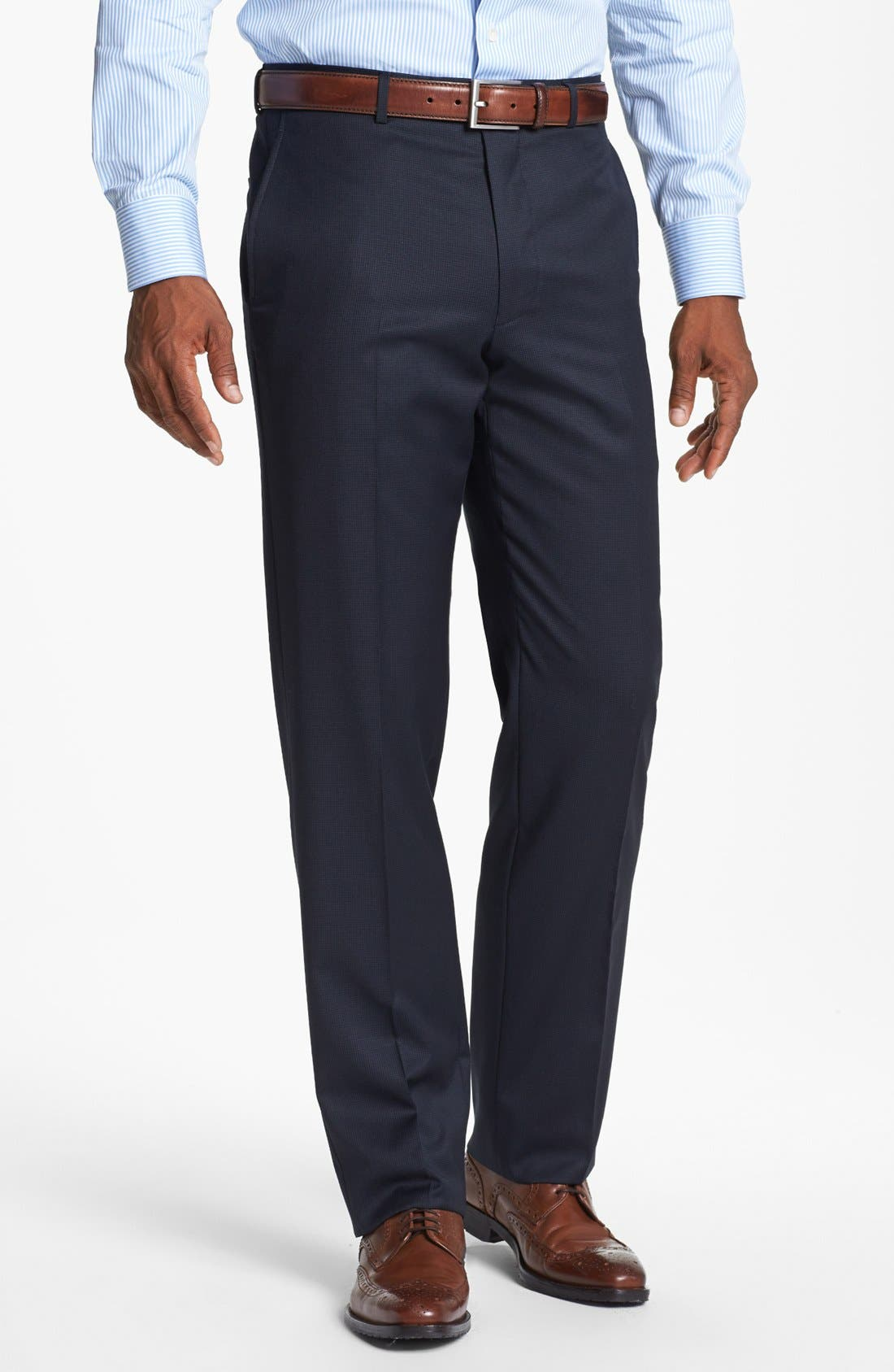 Alternate Image 5  - John W. Nordstrom® Classic Fit Check Wool Suit
