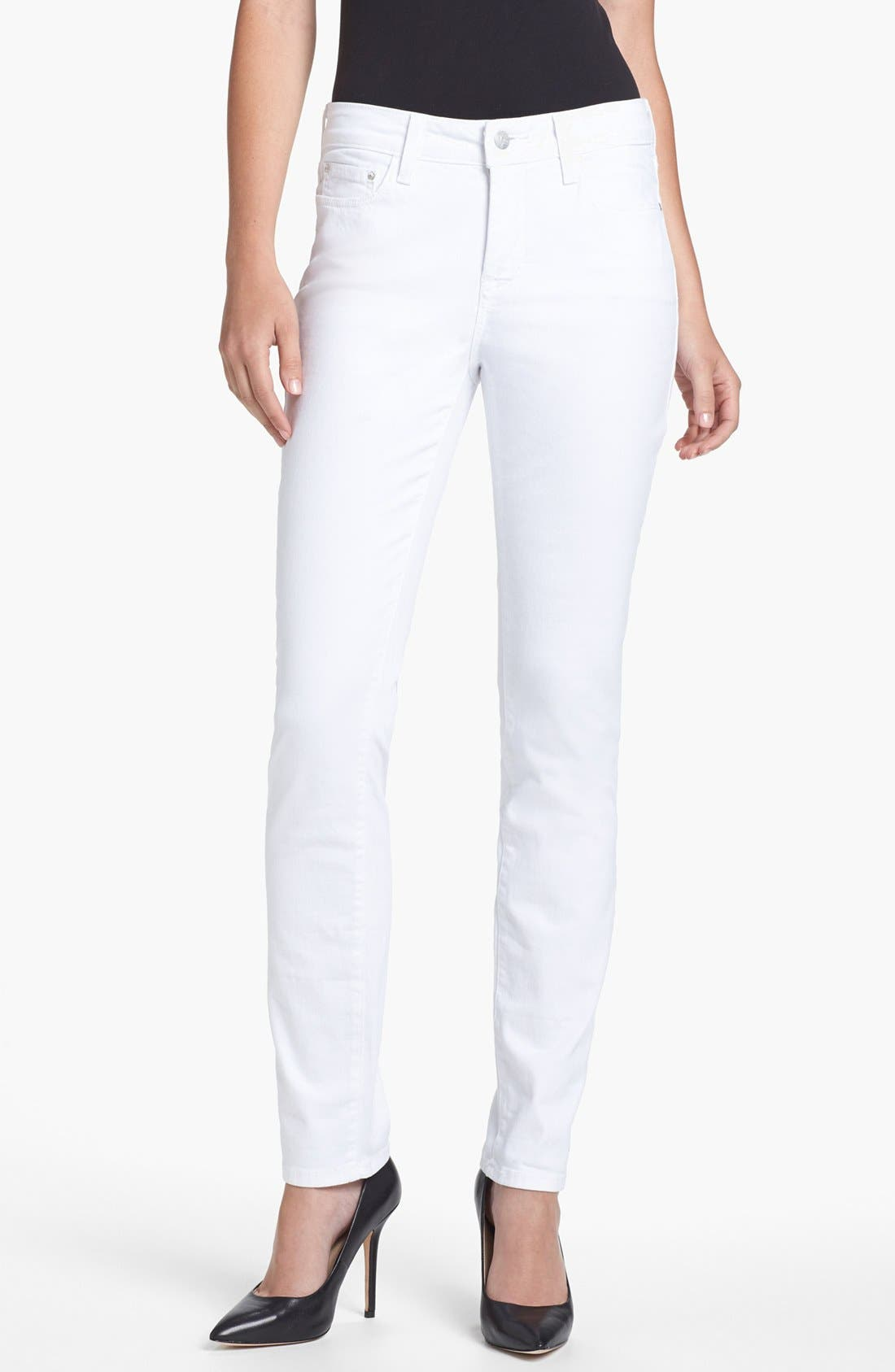 Alternate Image 1 Selected - NYDJ 'Jade' Colored Stretch Skinny Jeans