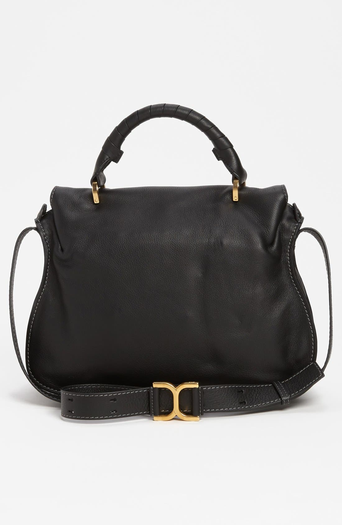 Alternate Image 4  - Chloé 'Marcie' Top Handle Leather Satchel