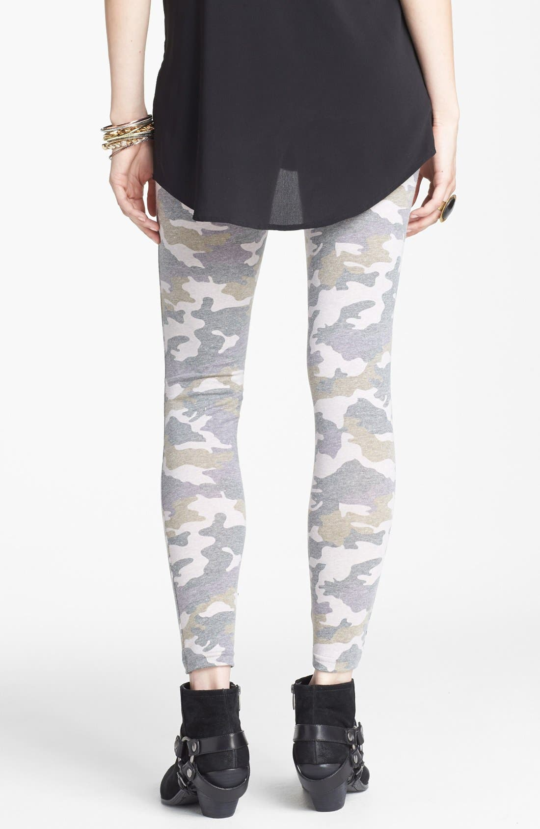 Alternate Image 2  - BP. Camouflage Leggings (Juniors)