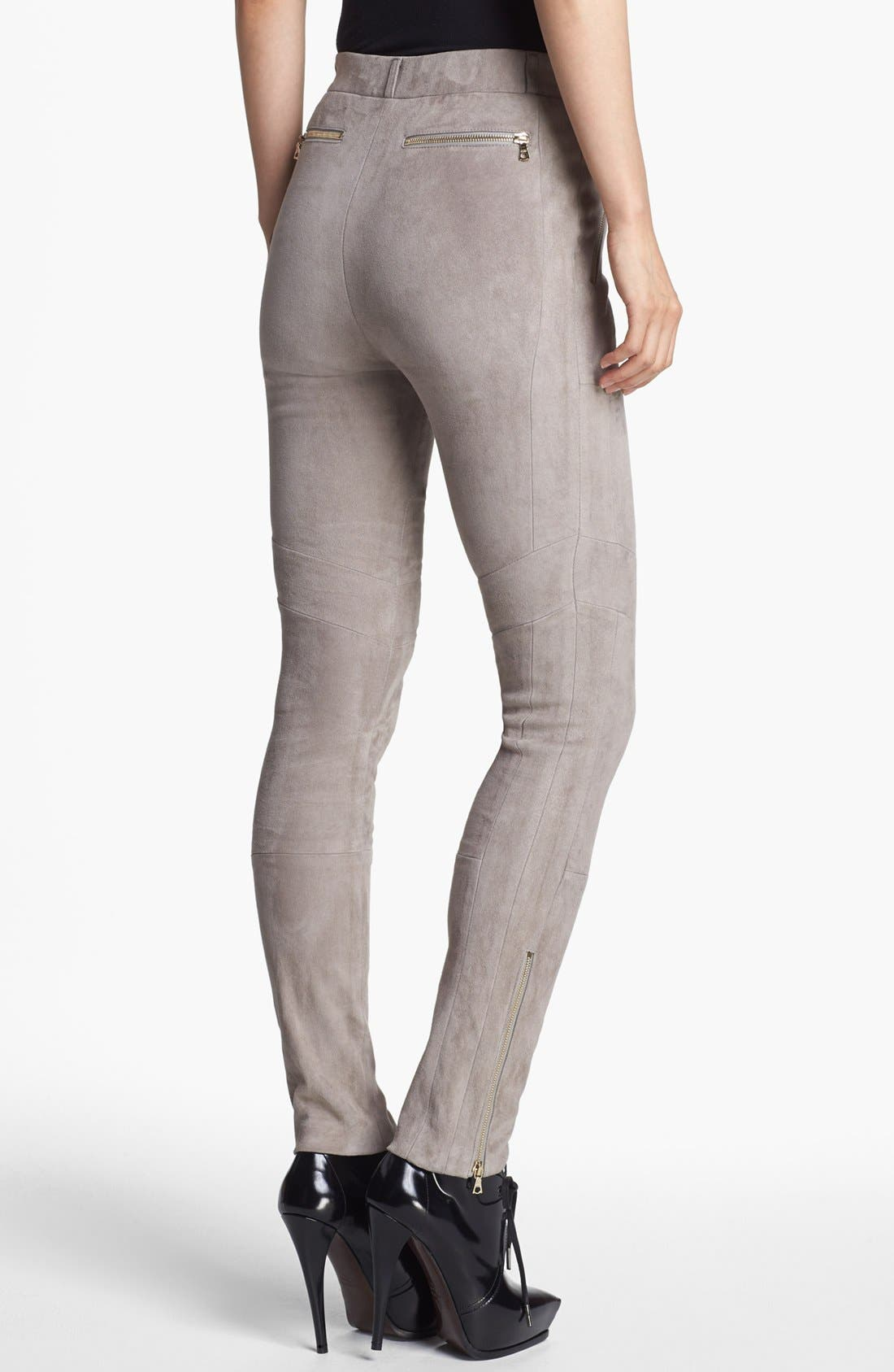 Alternate Image 2  - J Brand Ready-to-Wear 'Astrid' Stretch Suede Pants