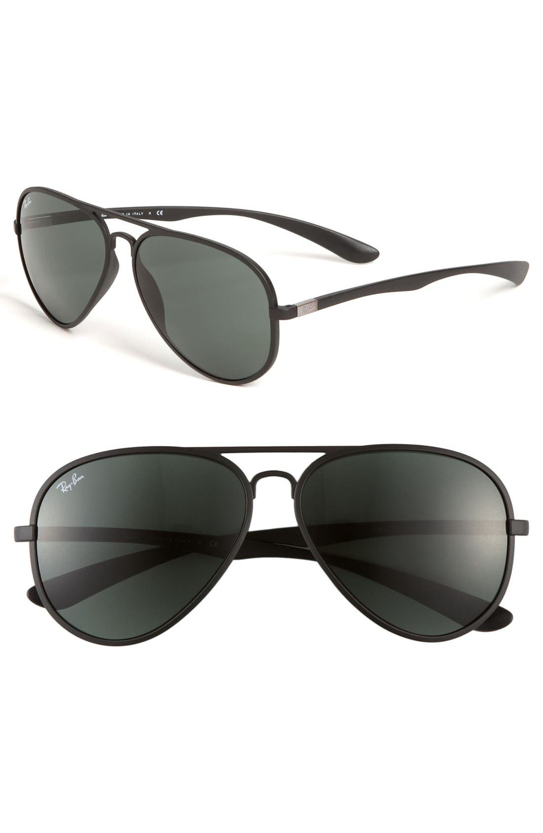 Main Image - Ray-Ban 58mm Aviator Sunglasses