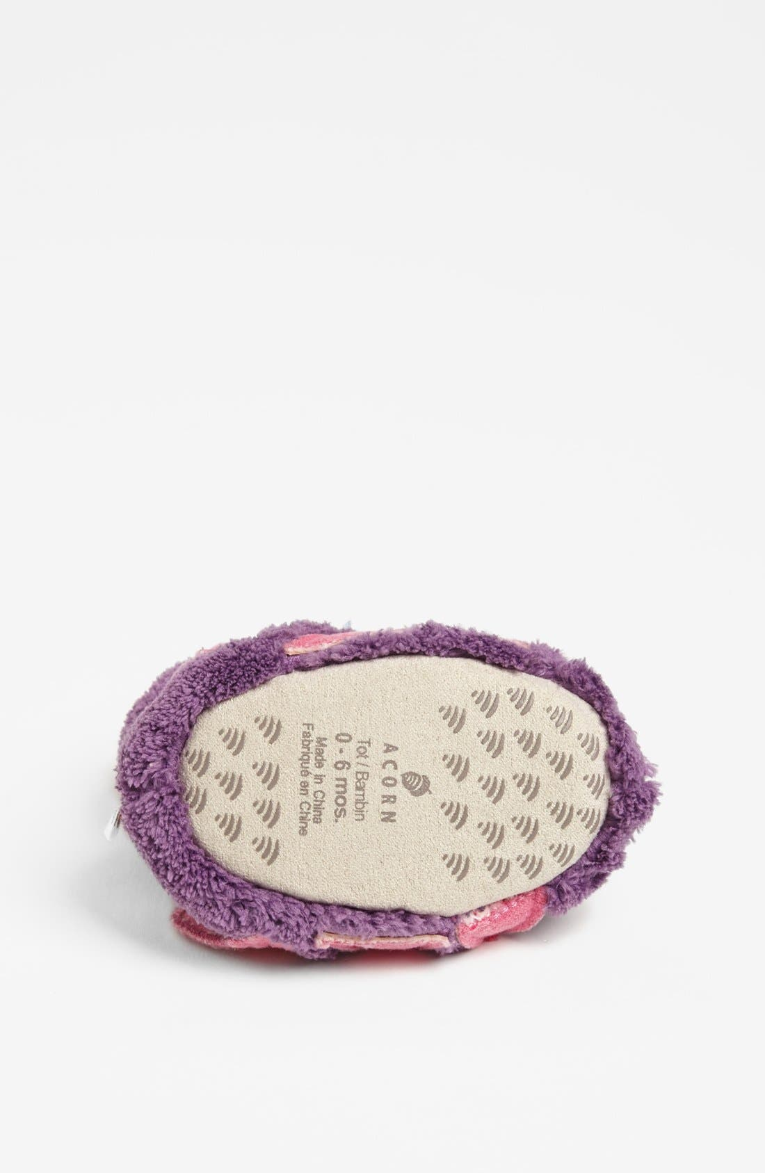 Alternate Image 4  - Acorn 'Kitty' Slipper (Baby, Walker & Toddler)