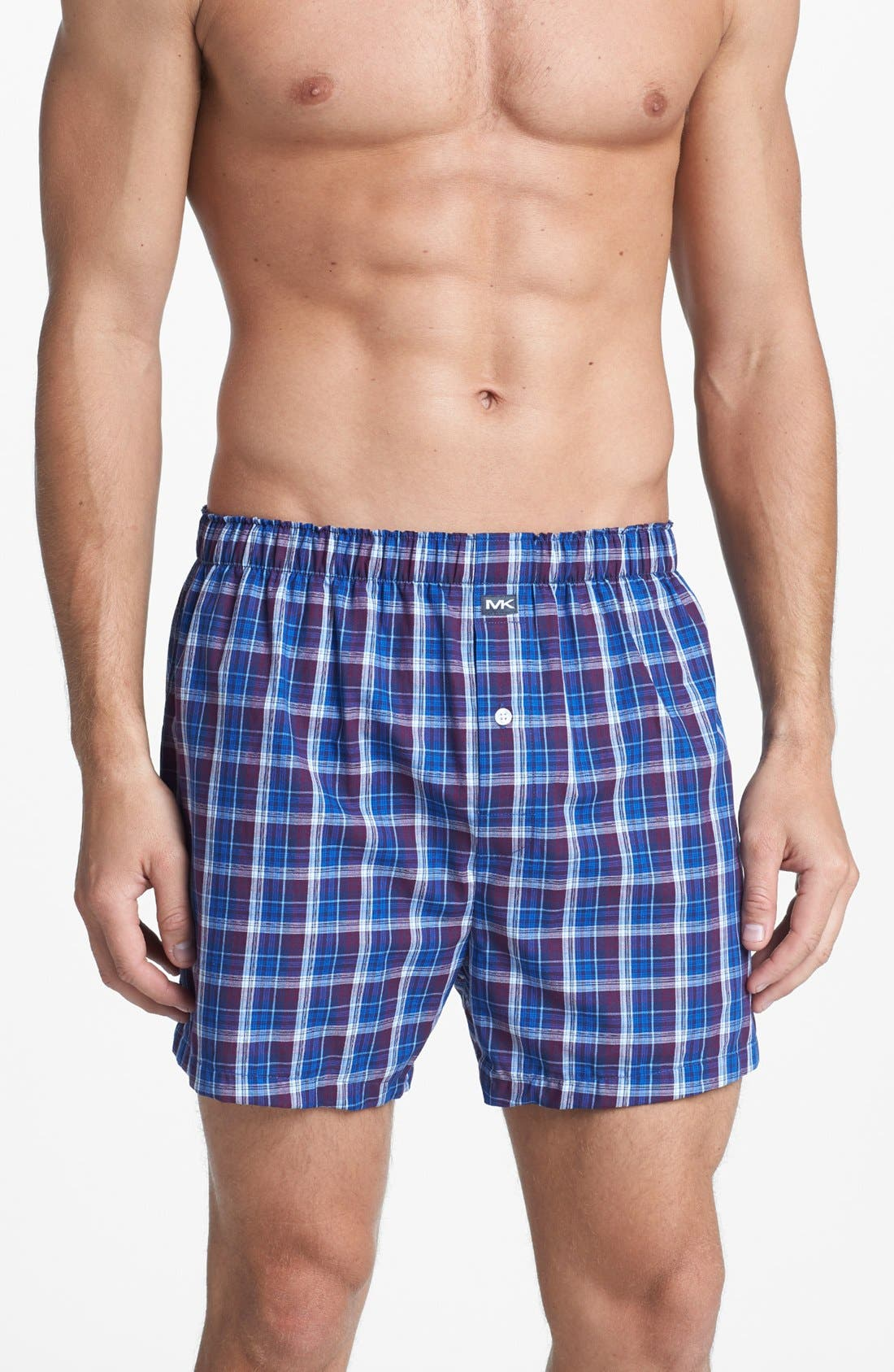 Main Image - Michael Kors Woven Boxers (Assorted 2-Pack)