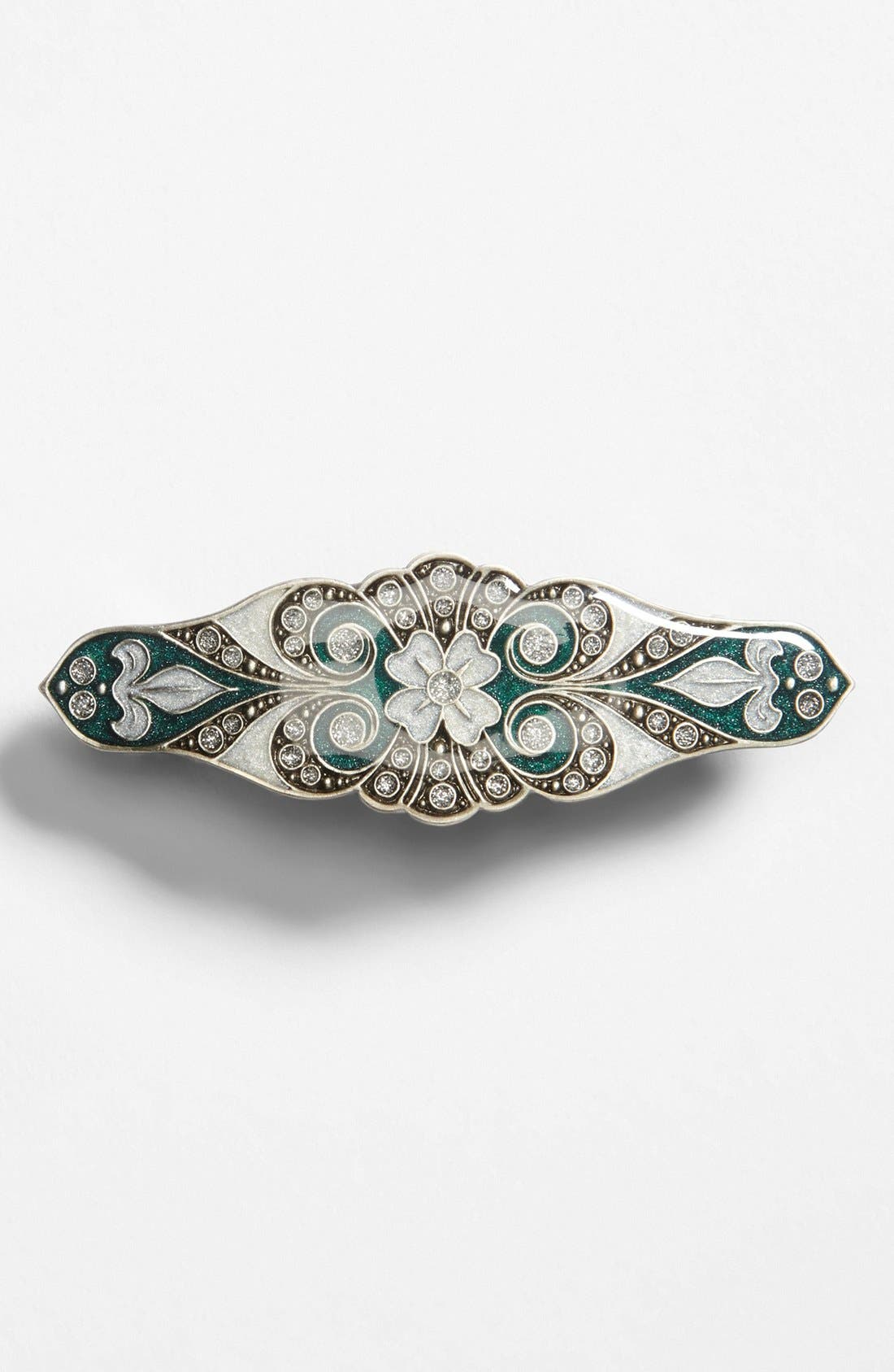 Alternate Image 1 Selected - L. Erickson Jeweled Spanish Barrette
