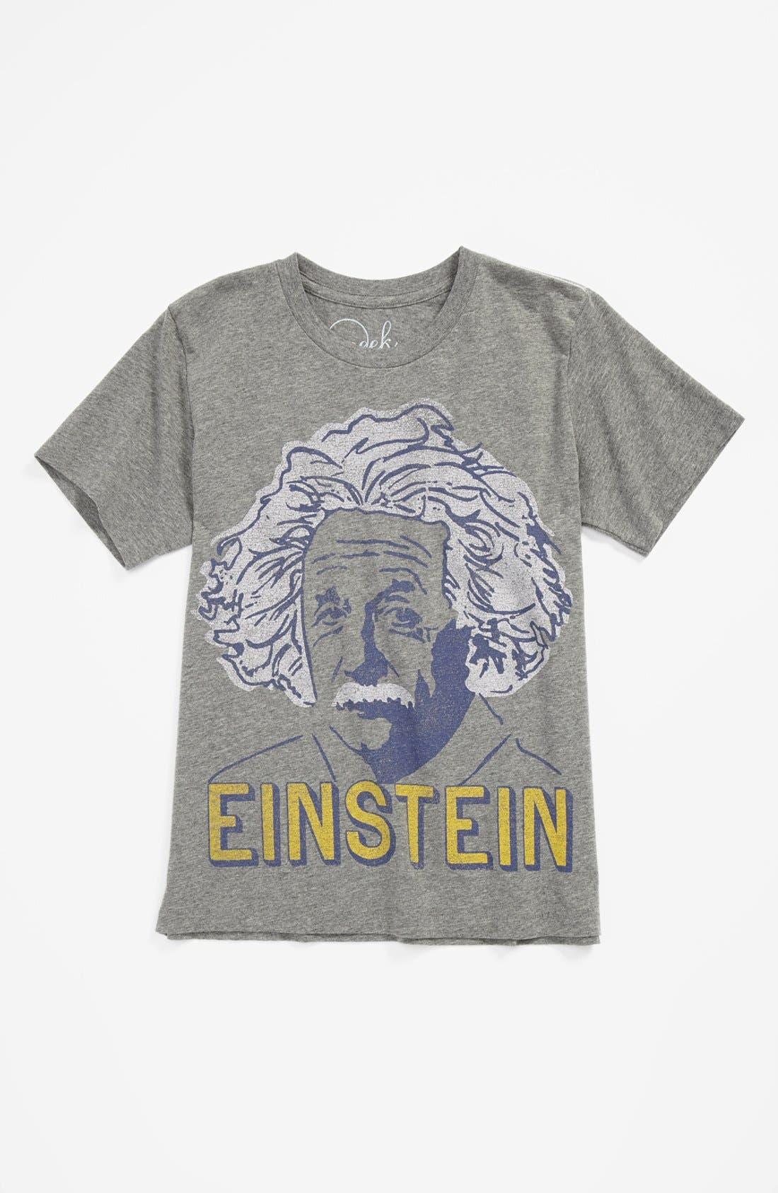 Alternate Image 1 Selected - Peek 'Einstein' T-Shirt (Toddler Boys, Little Boys & Big Boys)