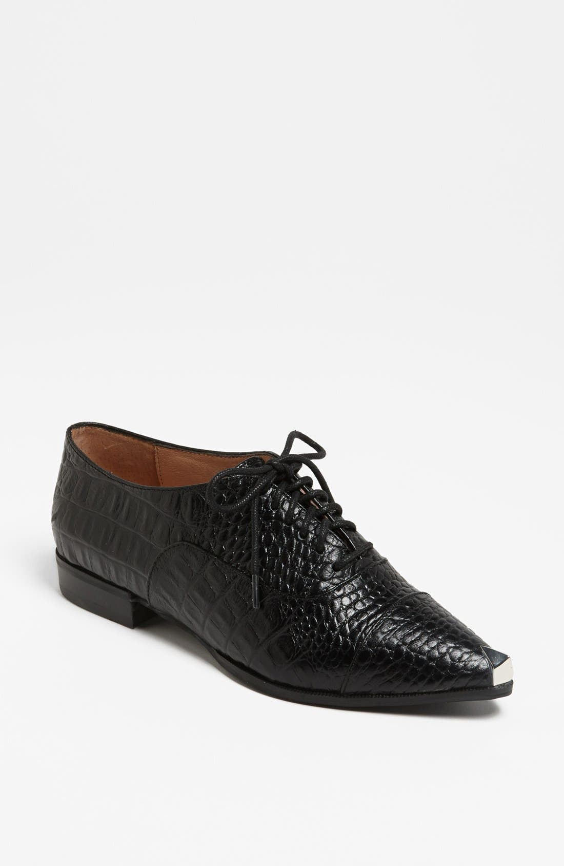 Alternate Image 1 Selected - Jeffrey Campbell 'Damone' Oxford Flat