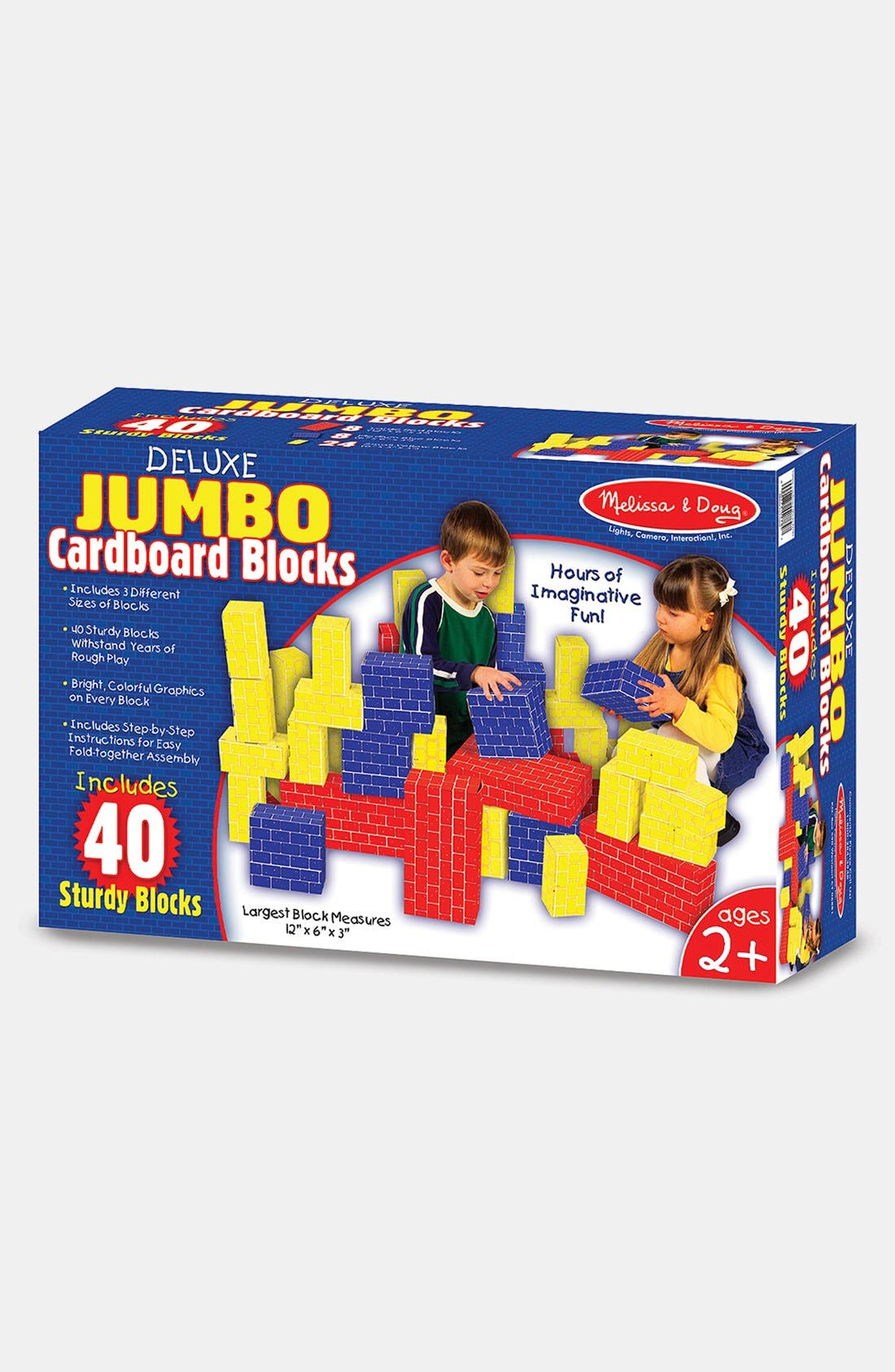 Alternate Image 4  - Melissa & Doug Cardboard Blocks (Online Only)