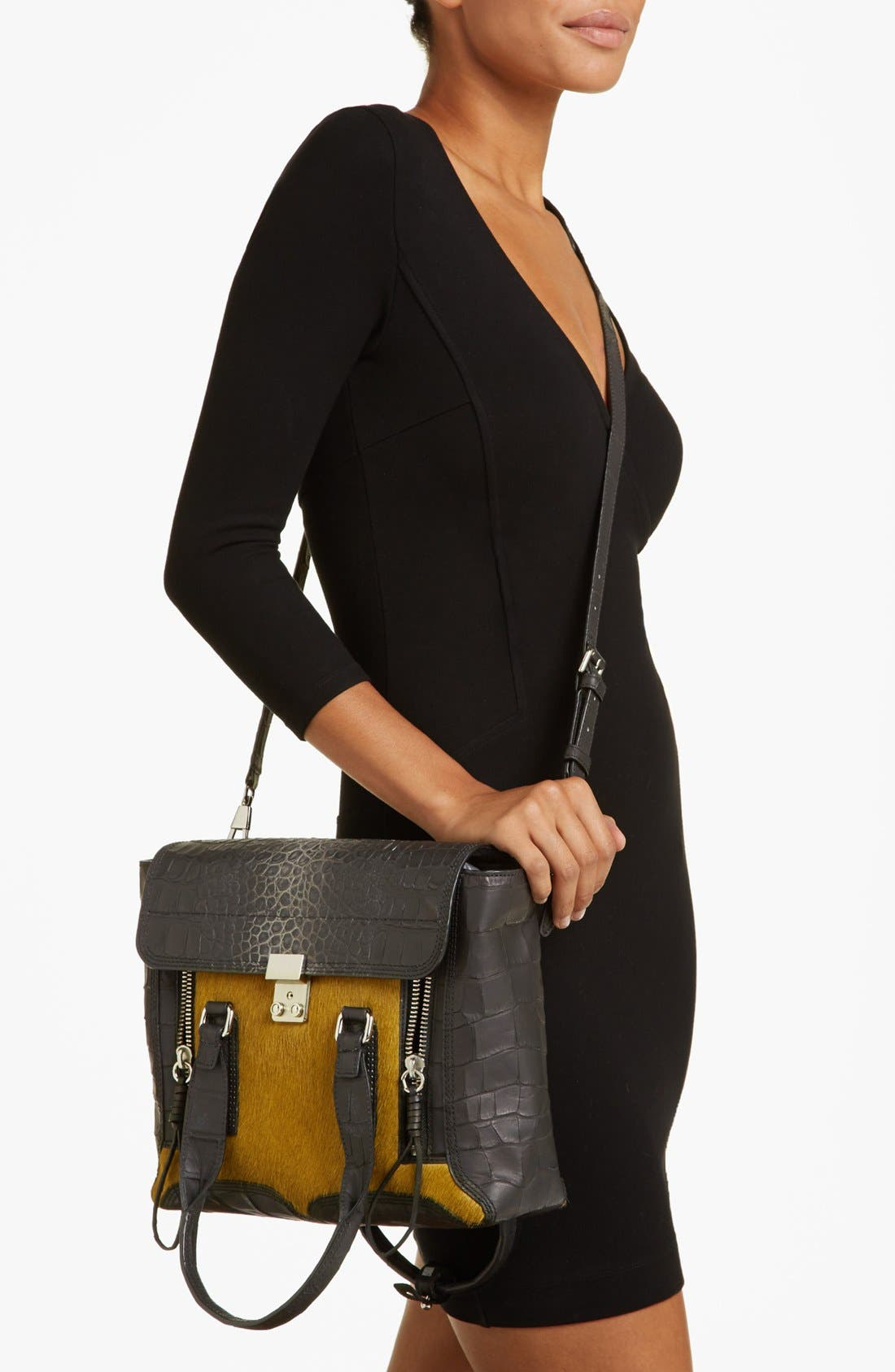 Alternate Image 2  - 3.1 Phillip Lim 'Pashli - Medium' Calf Hair & Leather Satchel