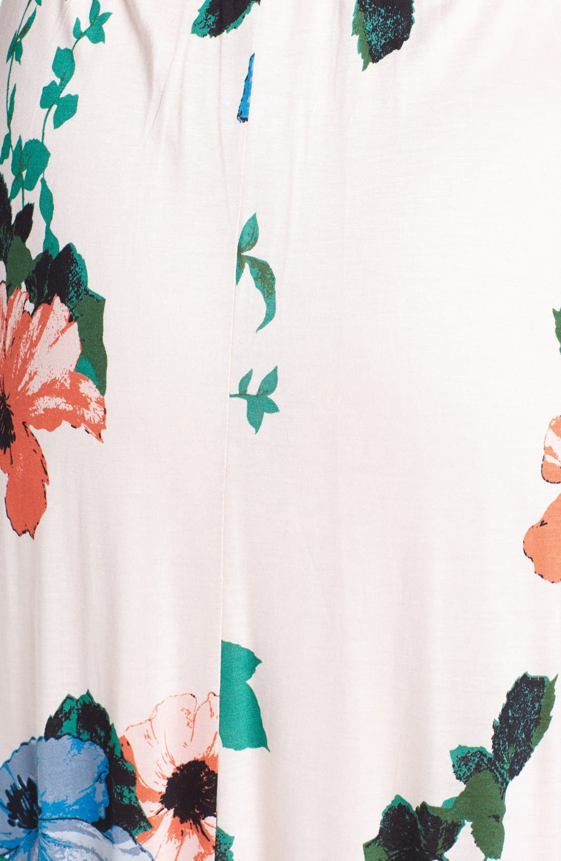 Alternate Image 3  - Felicity & Coco Hawaiian Print Belted Maxi Dress (Petite) (Nordstrom Exclusive)