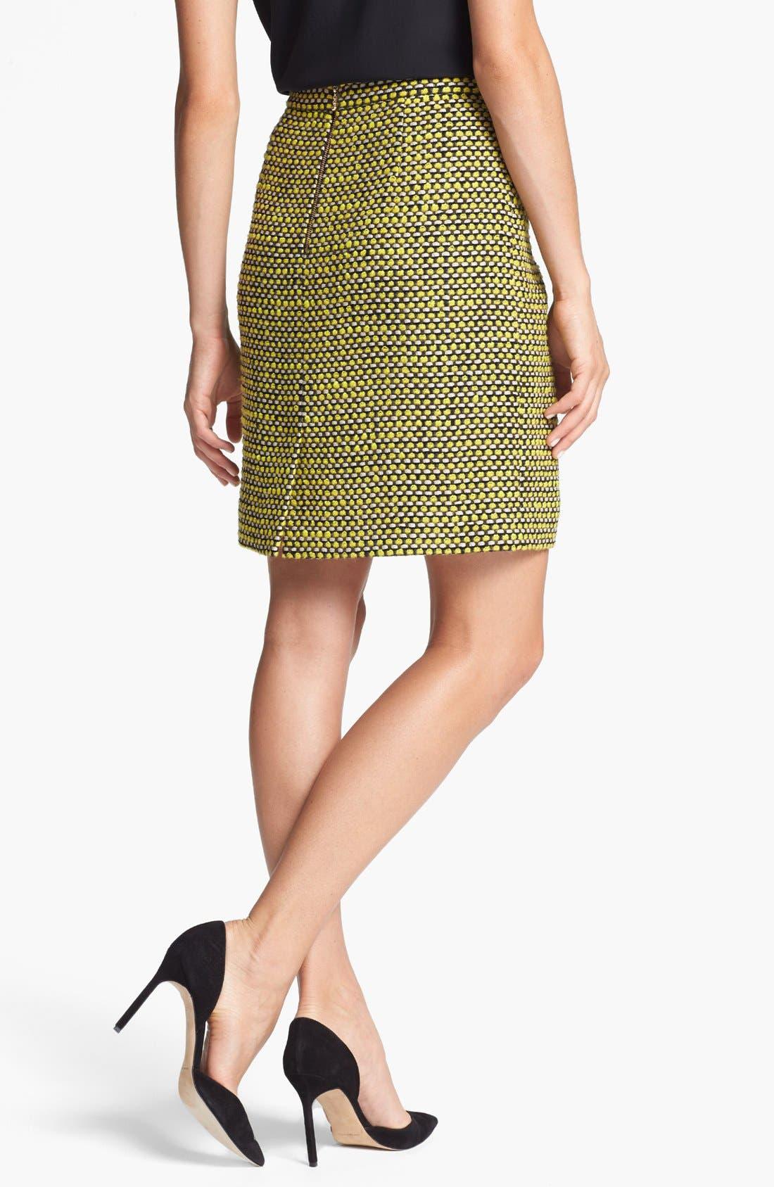 Alternate Image 2  - kate spade new york 'judy' tweed skirt
