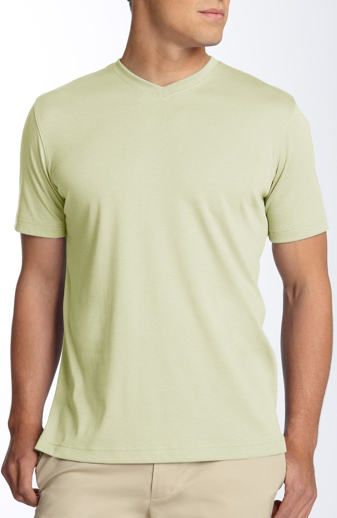 Alternate Image 1 Selected - Robert Barakett 'Georgia' V-Neck T-Shirt