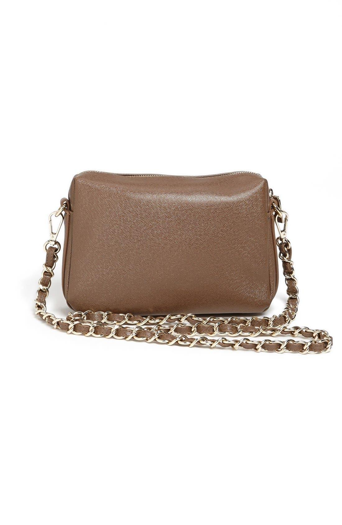 Alternate Image 4  - Izzy & Ali 'Ella' Faux Leather Crossbody Bag