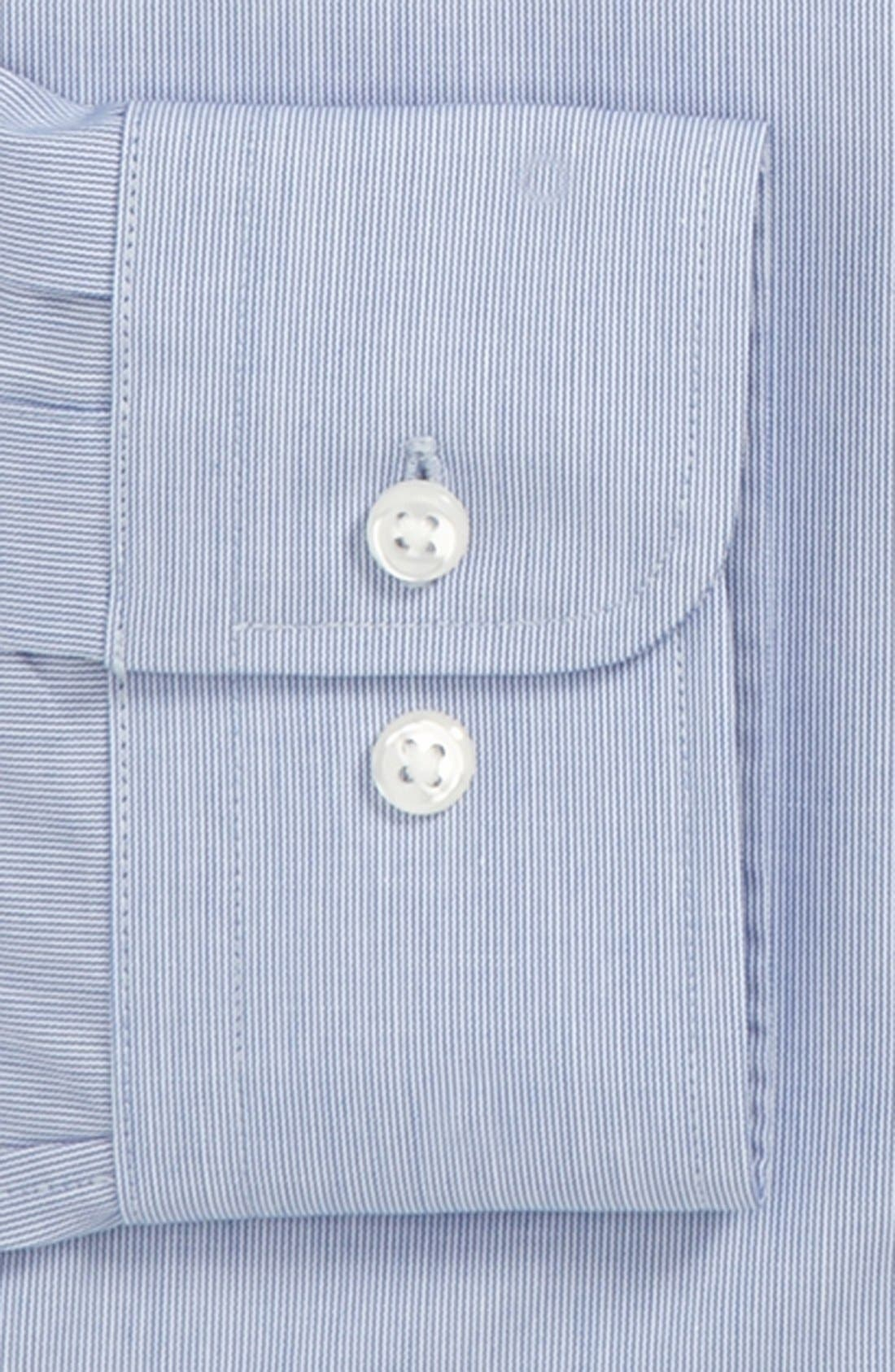 Alternate Image 2  - Nordstrom Traditional Fit Non-Iron Dress Shirt