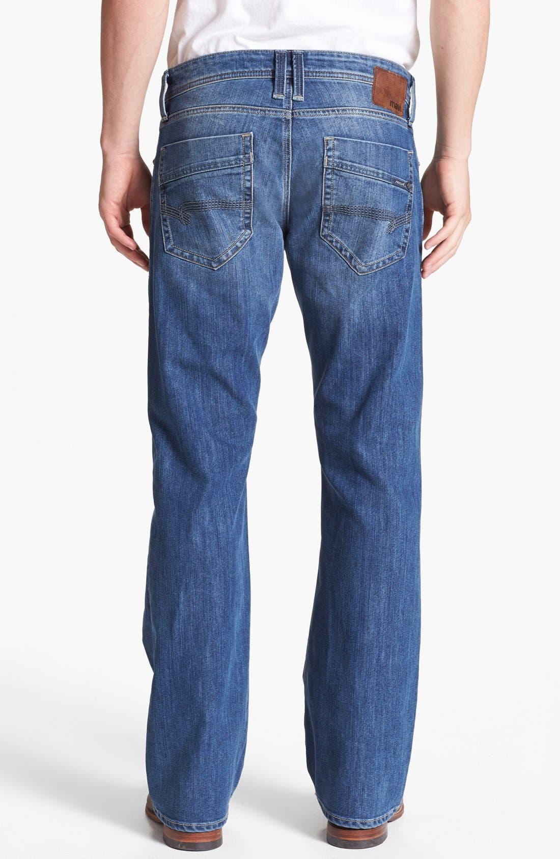 Alternate Image 1 Selected - Mavi Jeans 'Josh' Bootcut Jeans (Mid Cooper)