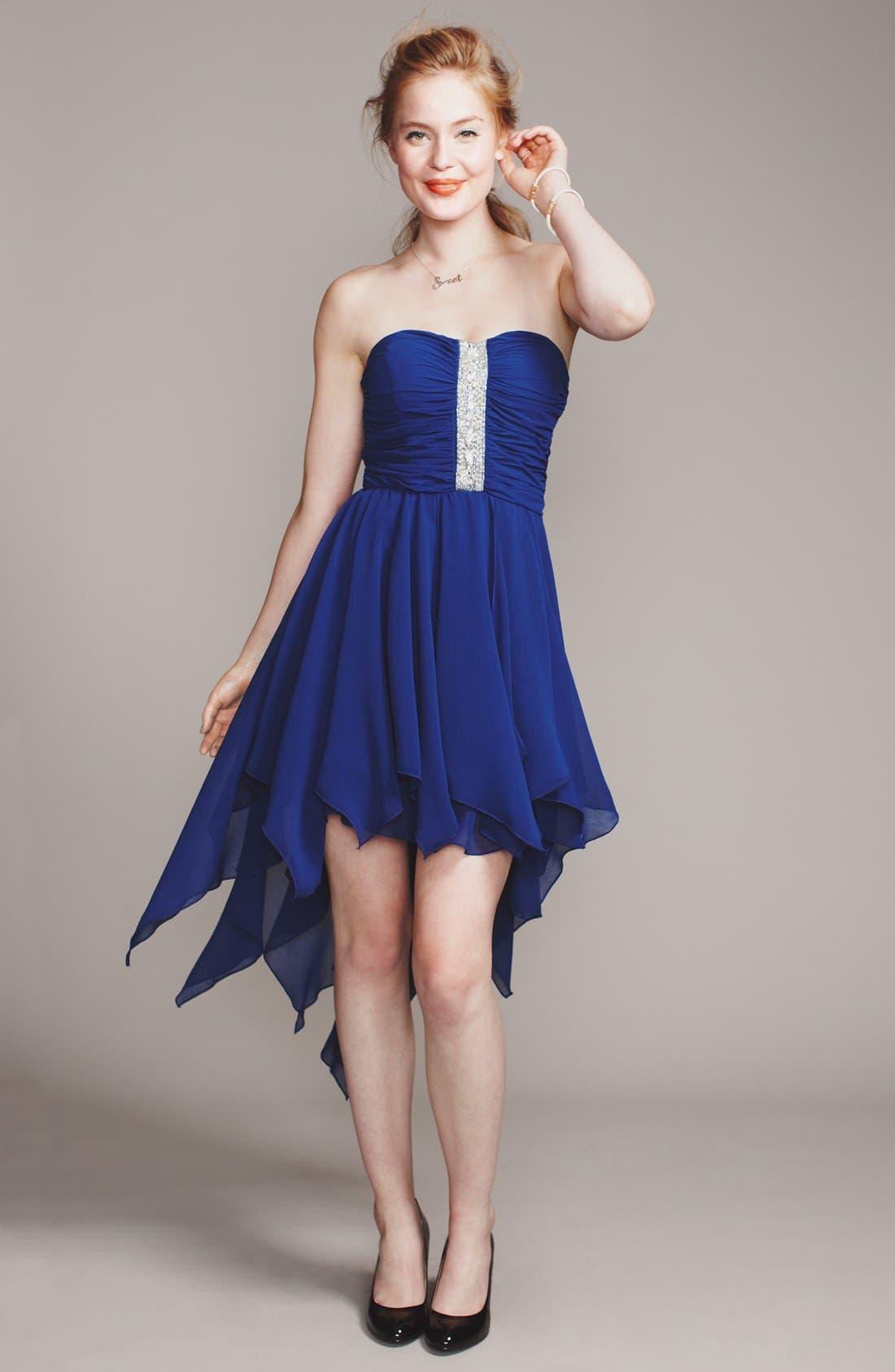 Alternate Image 1 Selected - As U Wish Dress & Accessories